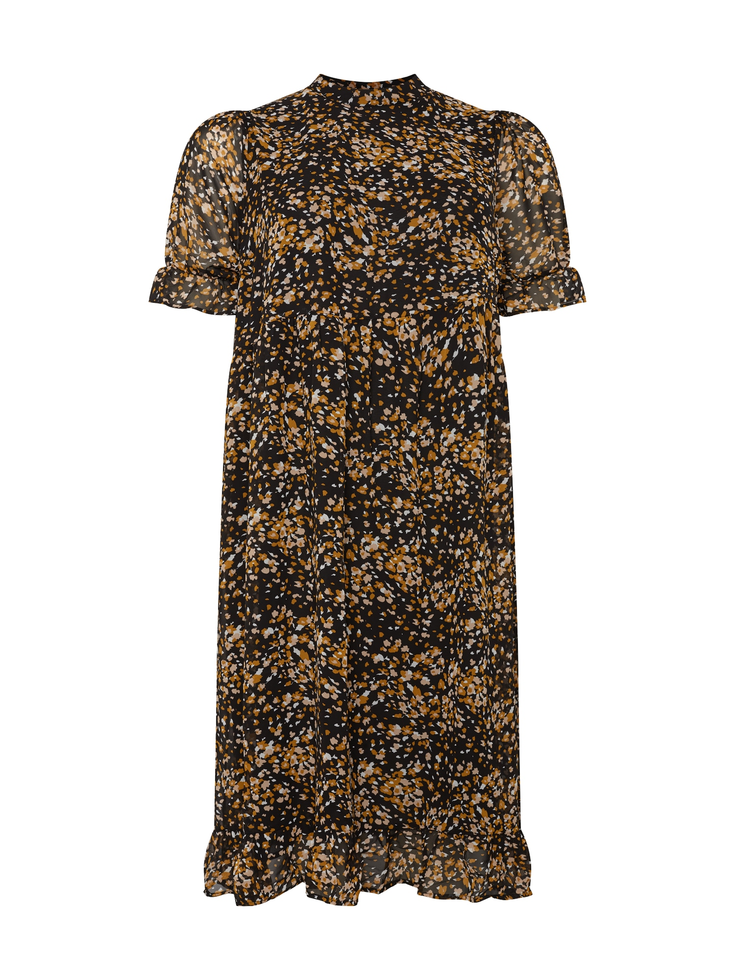 Selected Femme Curve Šaty 'Lina'  černá / mix barev