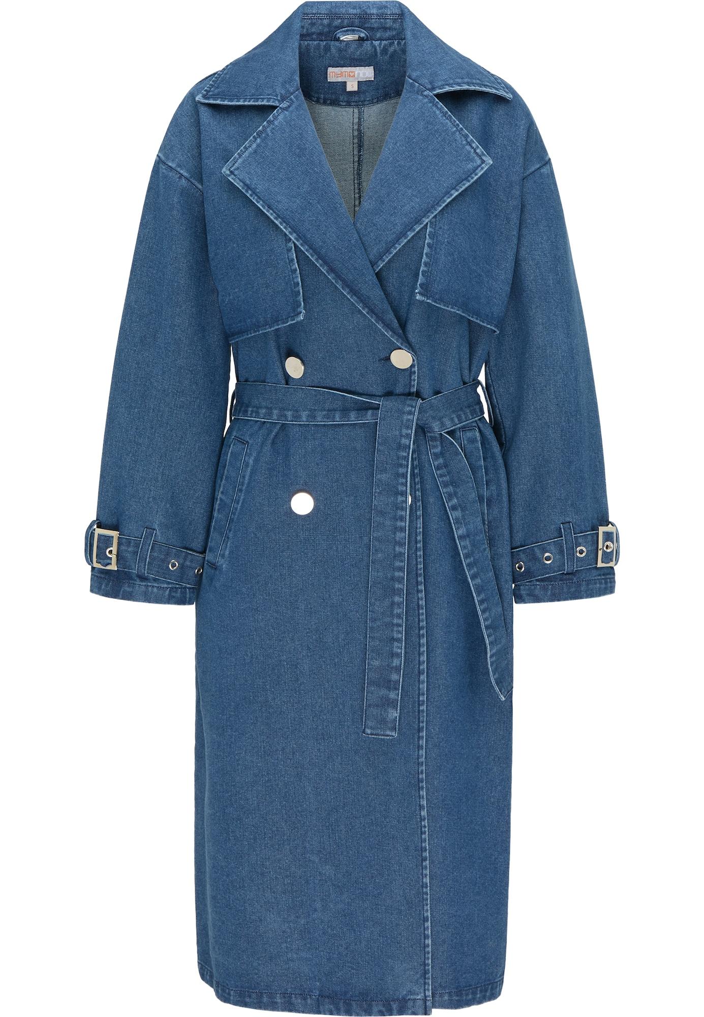 myMo NOW Demisezoninis paltas tamsiai (džinso) mėlyna