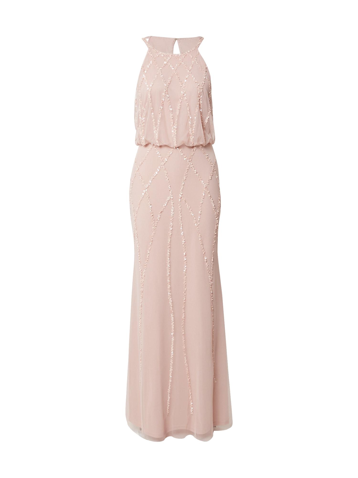 Hailey Logan Vakarinė suknelė rožinė