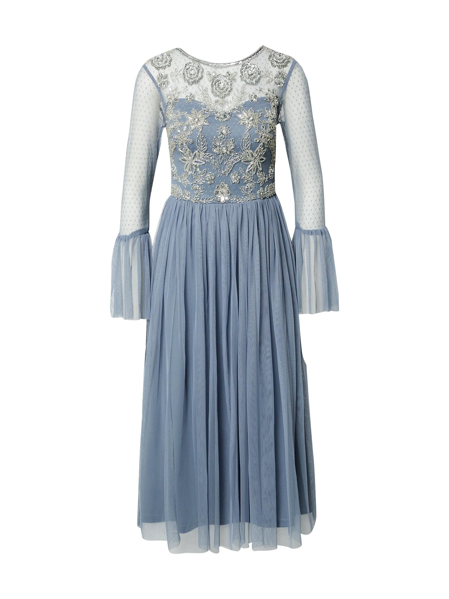 Frock and Frill Vakarinė suknelė tamsiai pilka