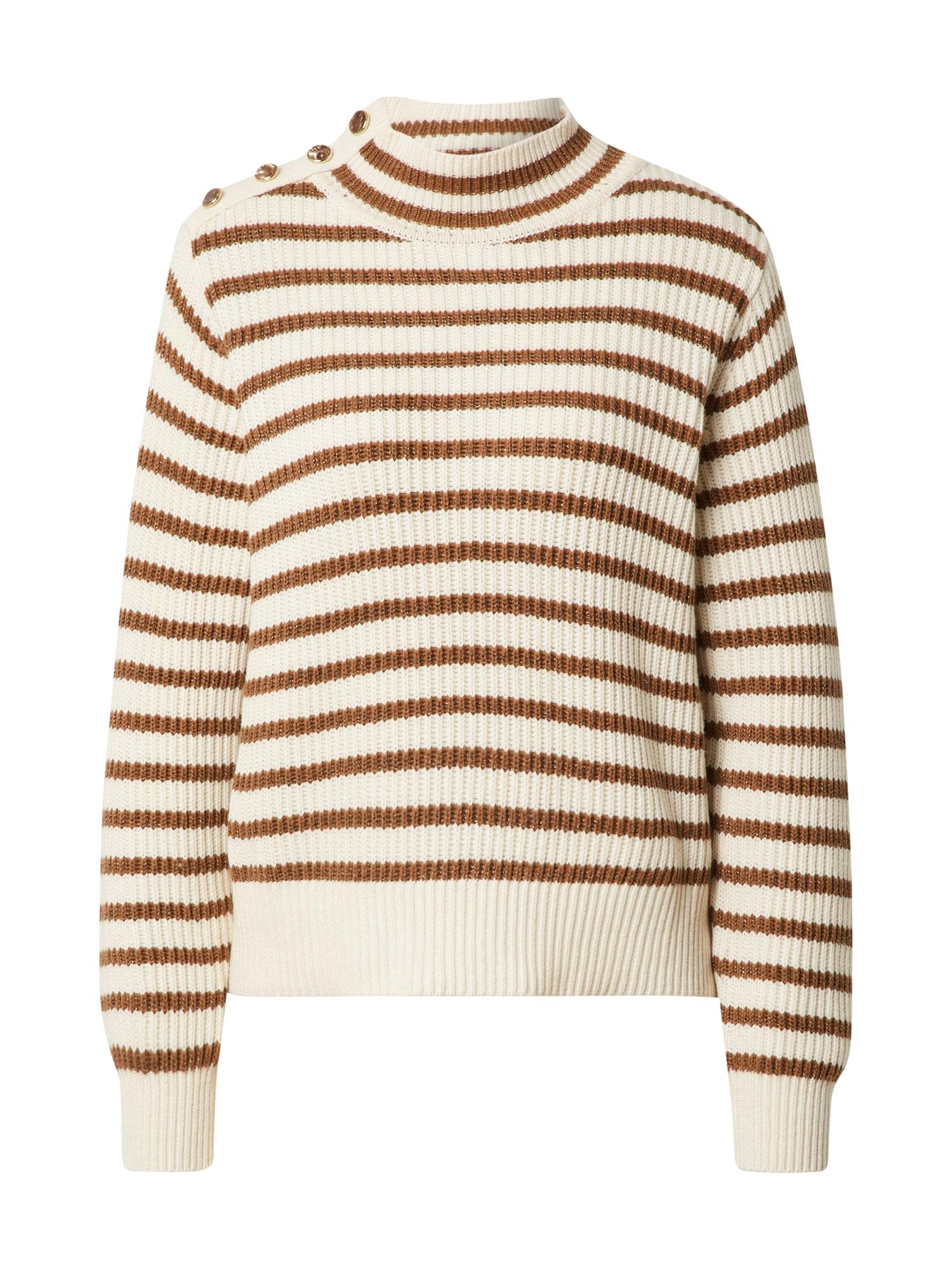 MOS MOSH Megztinis smėlio / ruda