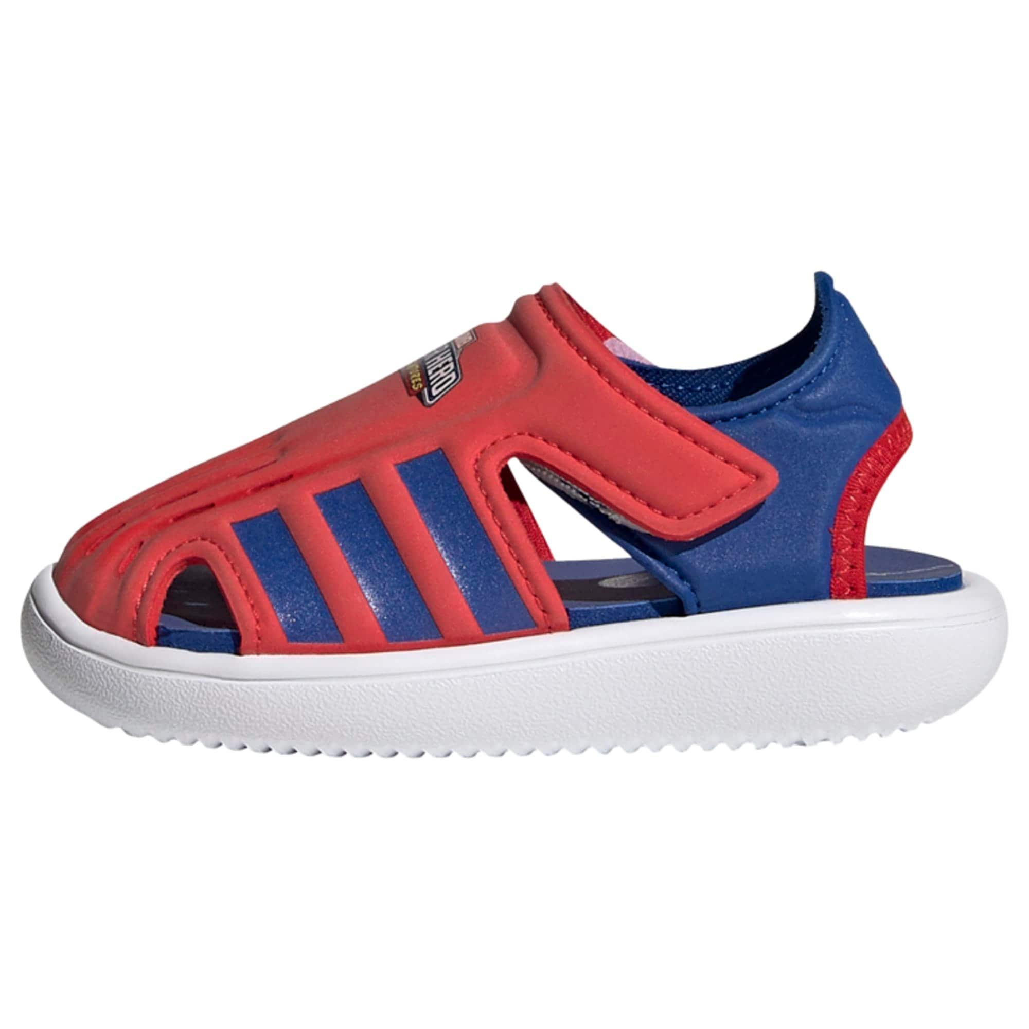 ADIDAS PERFORMANCE Sandalai / maudymosi batai raudona / mėlyna