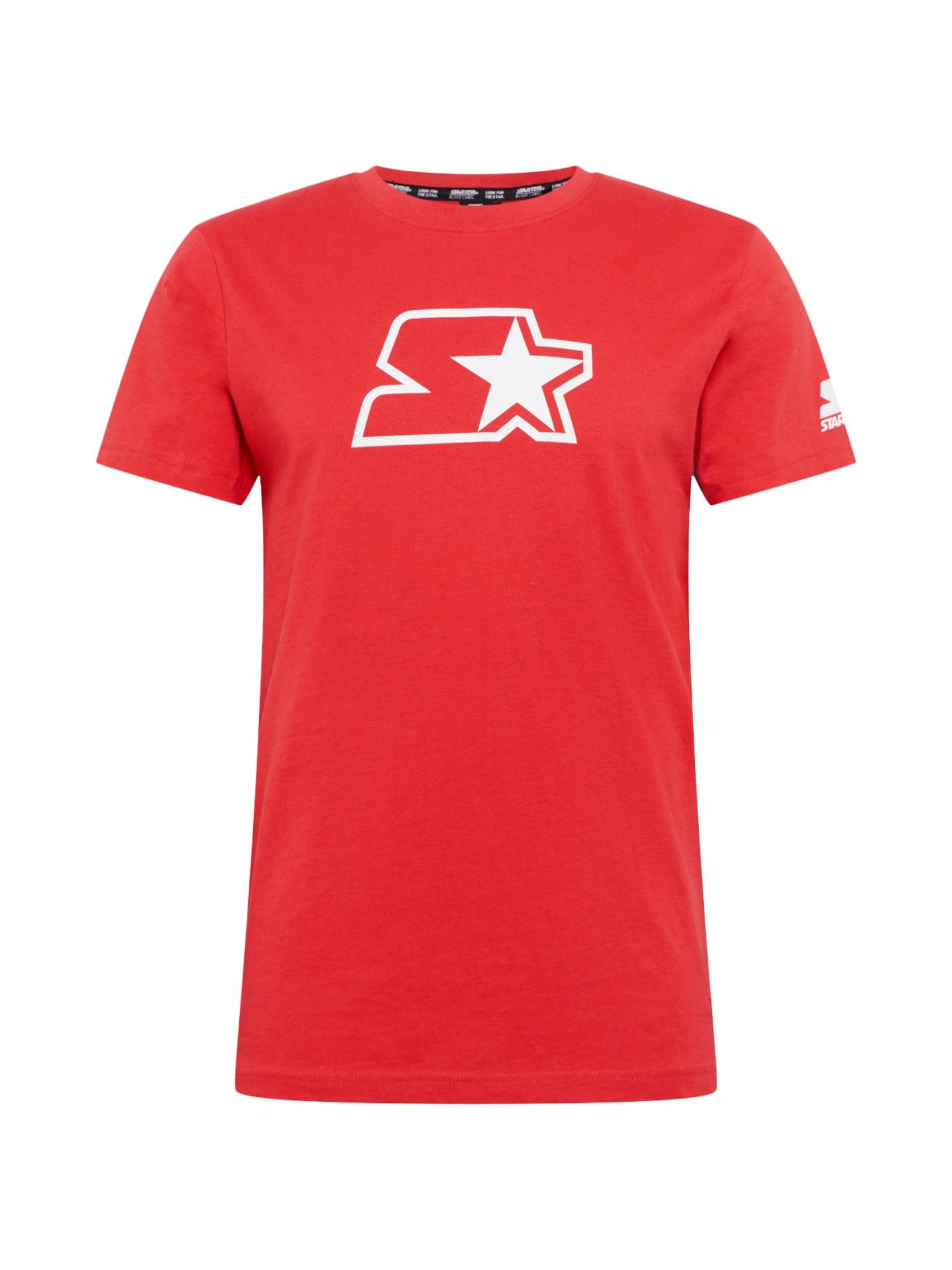 Starter Black Label Marškinėliai raudona / balta