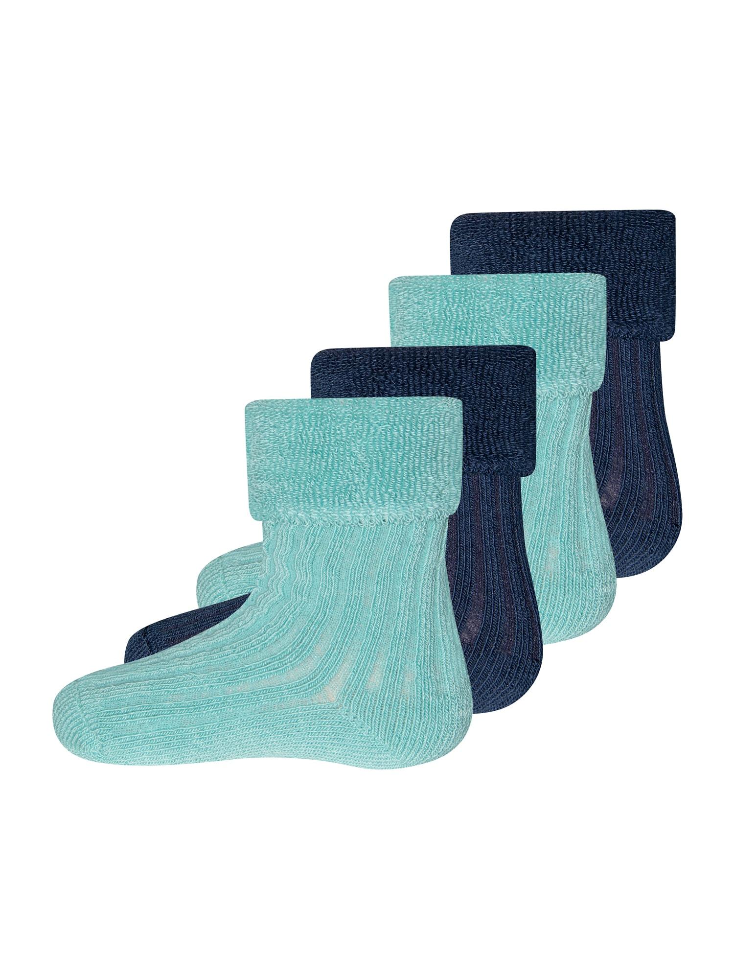 EWERS Kojinės pastelinė mėlyna / tamsiai mėlyna