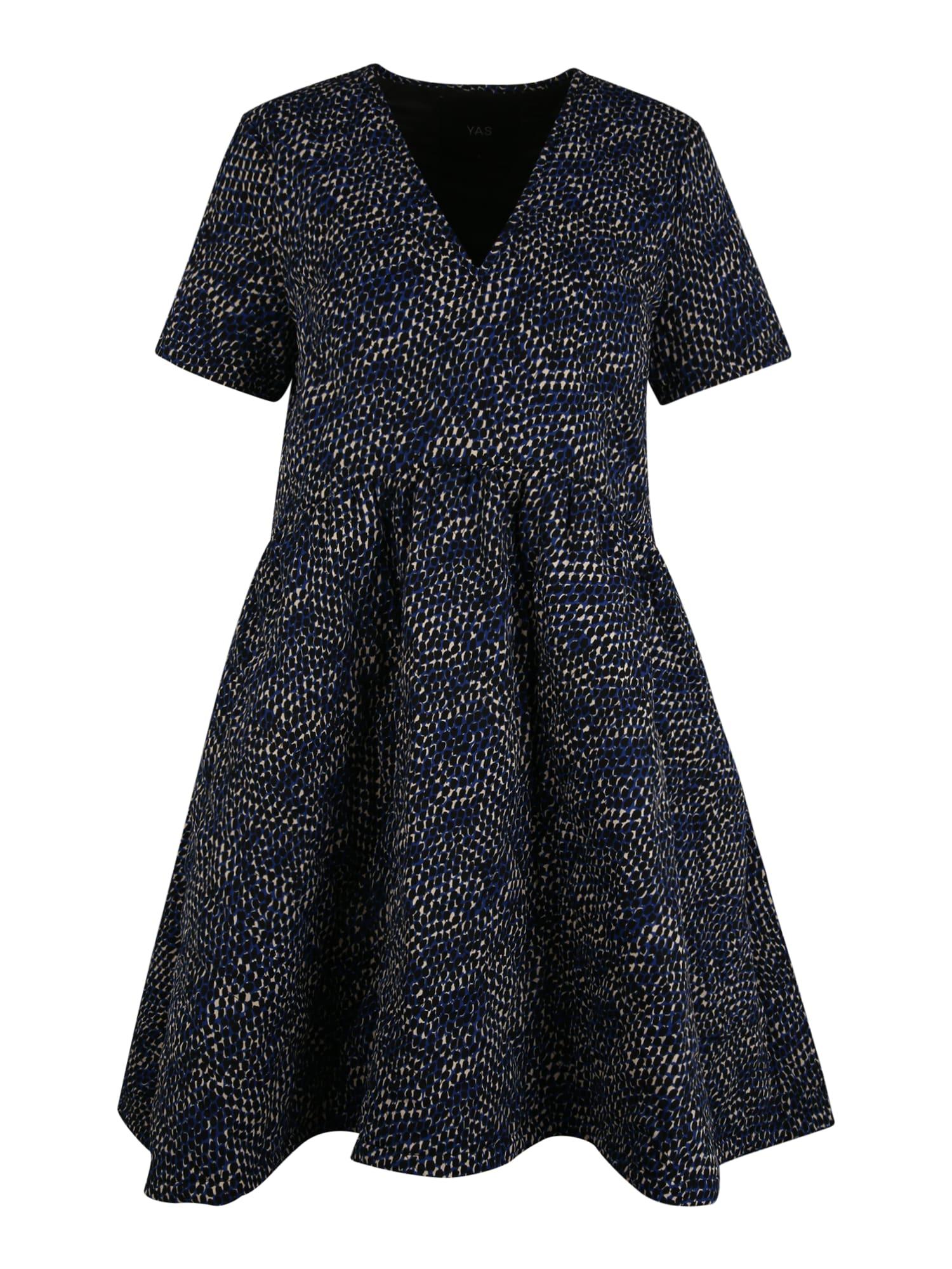 Y.A.S (Petite) Šaty 'Vicci'  modrá / černá / béžová