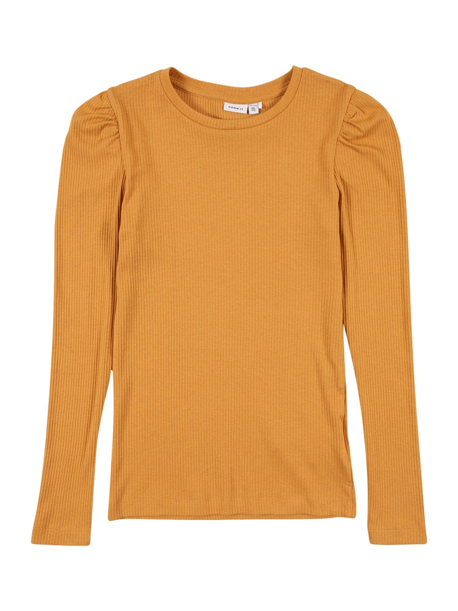 NAME IT Tričko 'KABEXI'  zlatě žlutá
