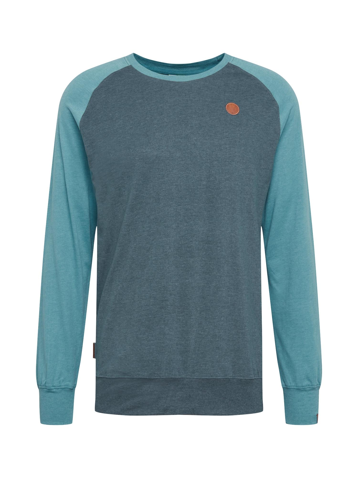 Alife and Kickin Marškinėliai mėlyna / žalia