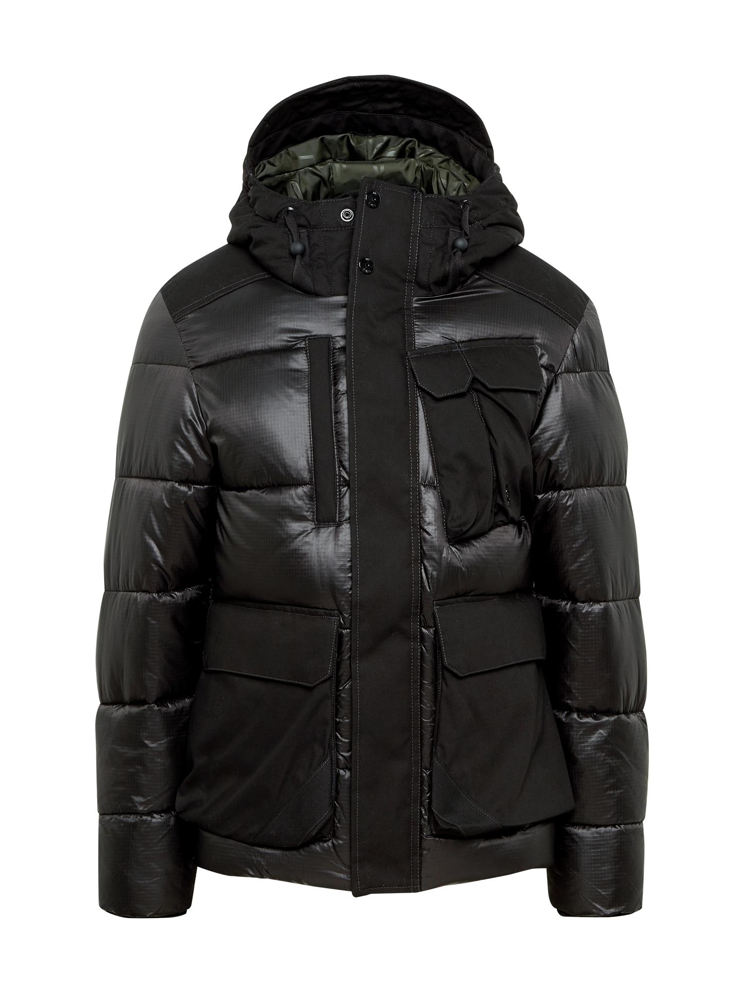 G-Star RAW Žieminė striukė juoda