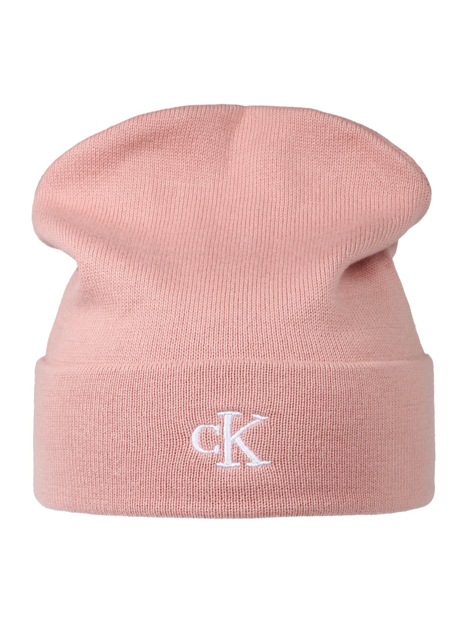 Calvin Klein Jeans Megzta kepurė rožinė