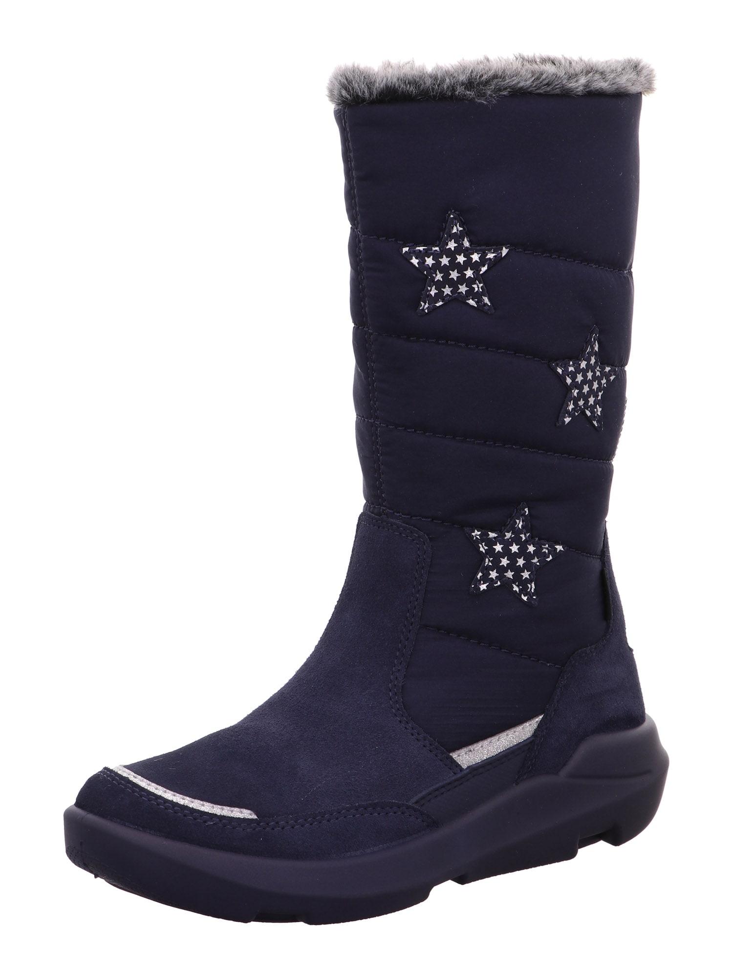 SUPERFIT Sniego batai 'TWILIGHT' mėlyna / balta