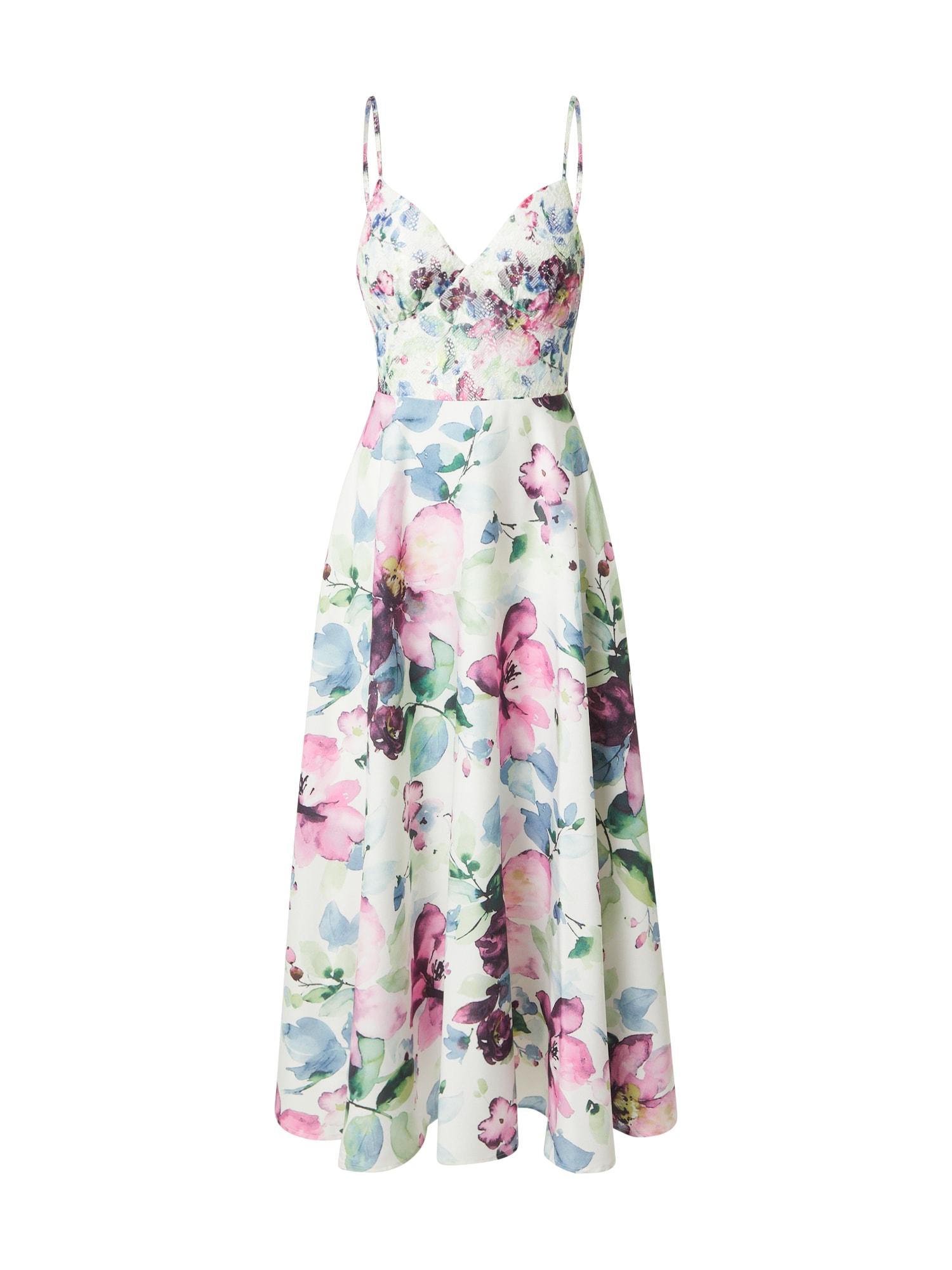 Forever Unique Kokteilinė suknelė mišrios spalvos