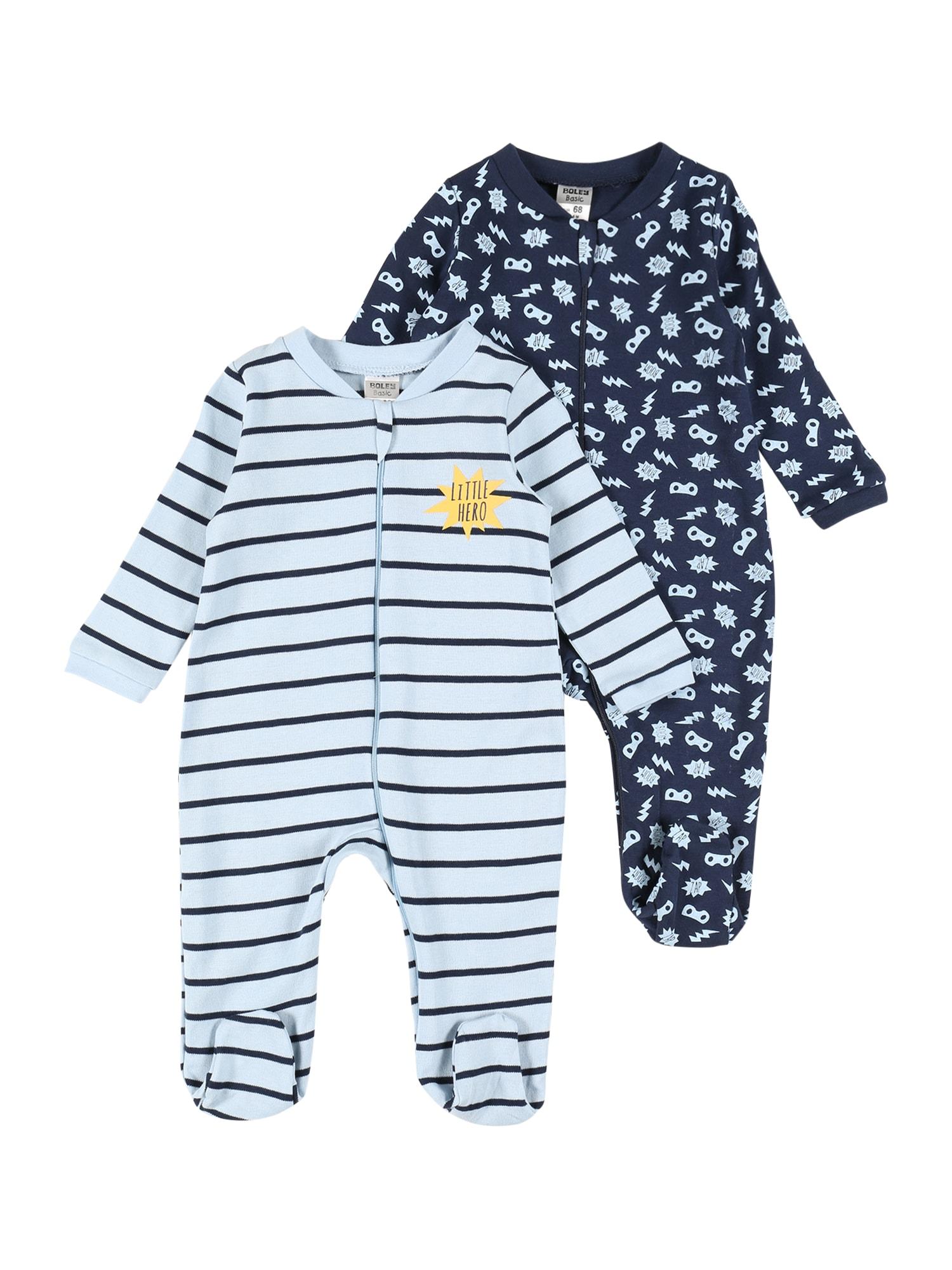 Boley Miego kostiumas tamsiai mėlyna jūros spalva / šviesiai mėlyna