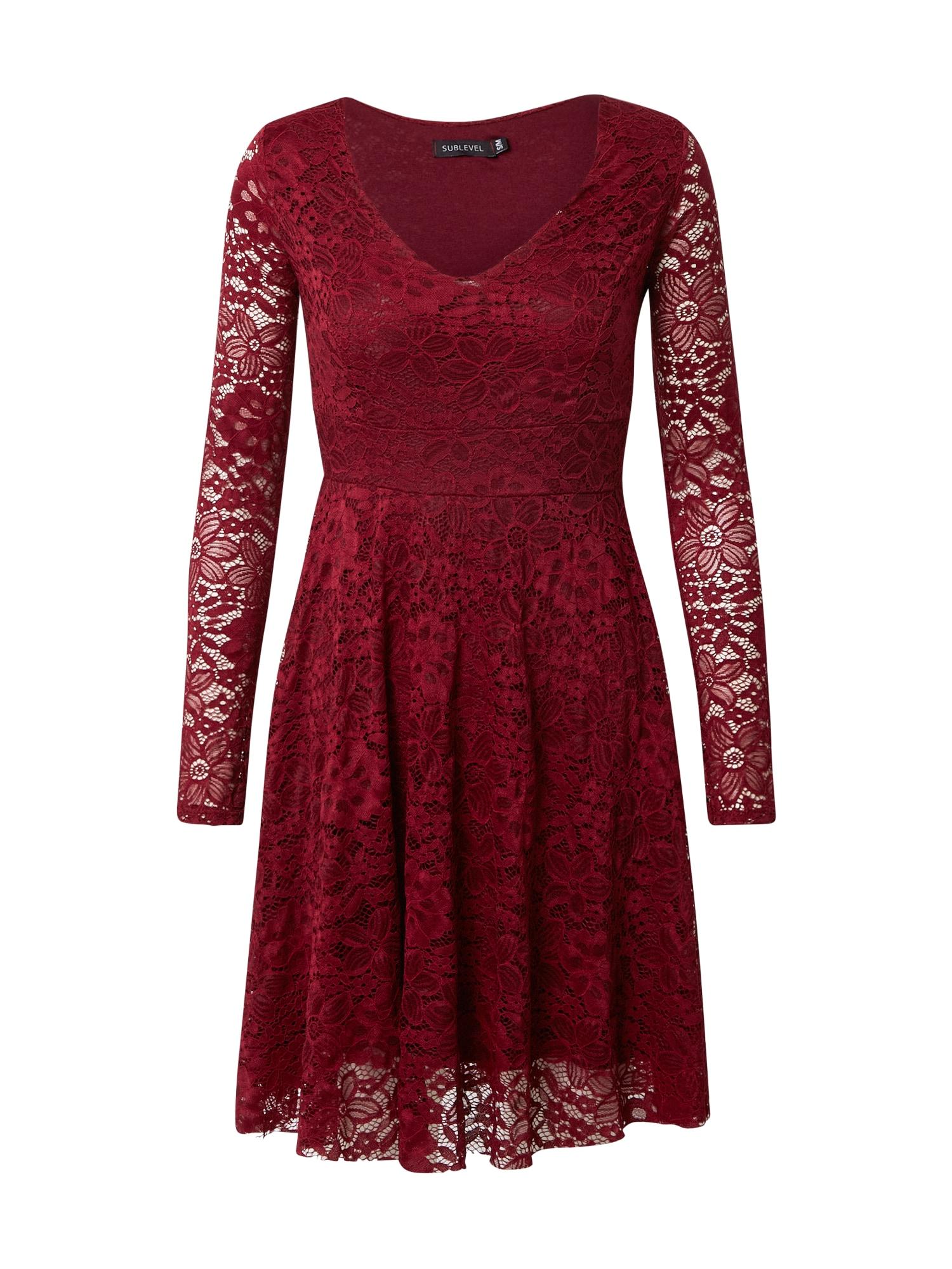 Sublevel Kokteilinė suknelė raudona