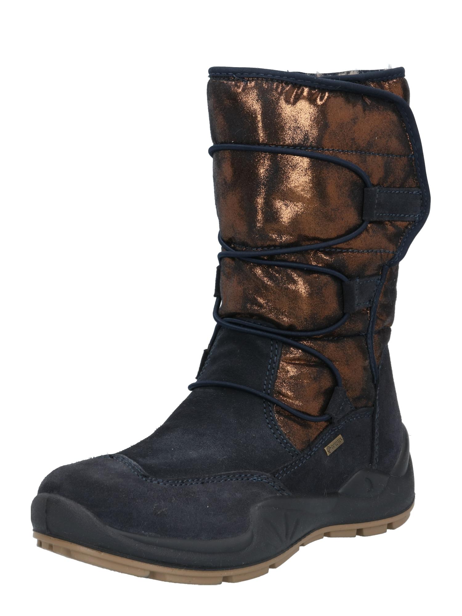PRIMIGI Sniego batai bronzinė / nakties mėlyna
