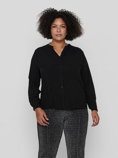 Only Carmakoma Anita Langarm-Hemd mit Schulterfalten