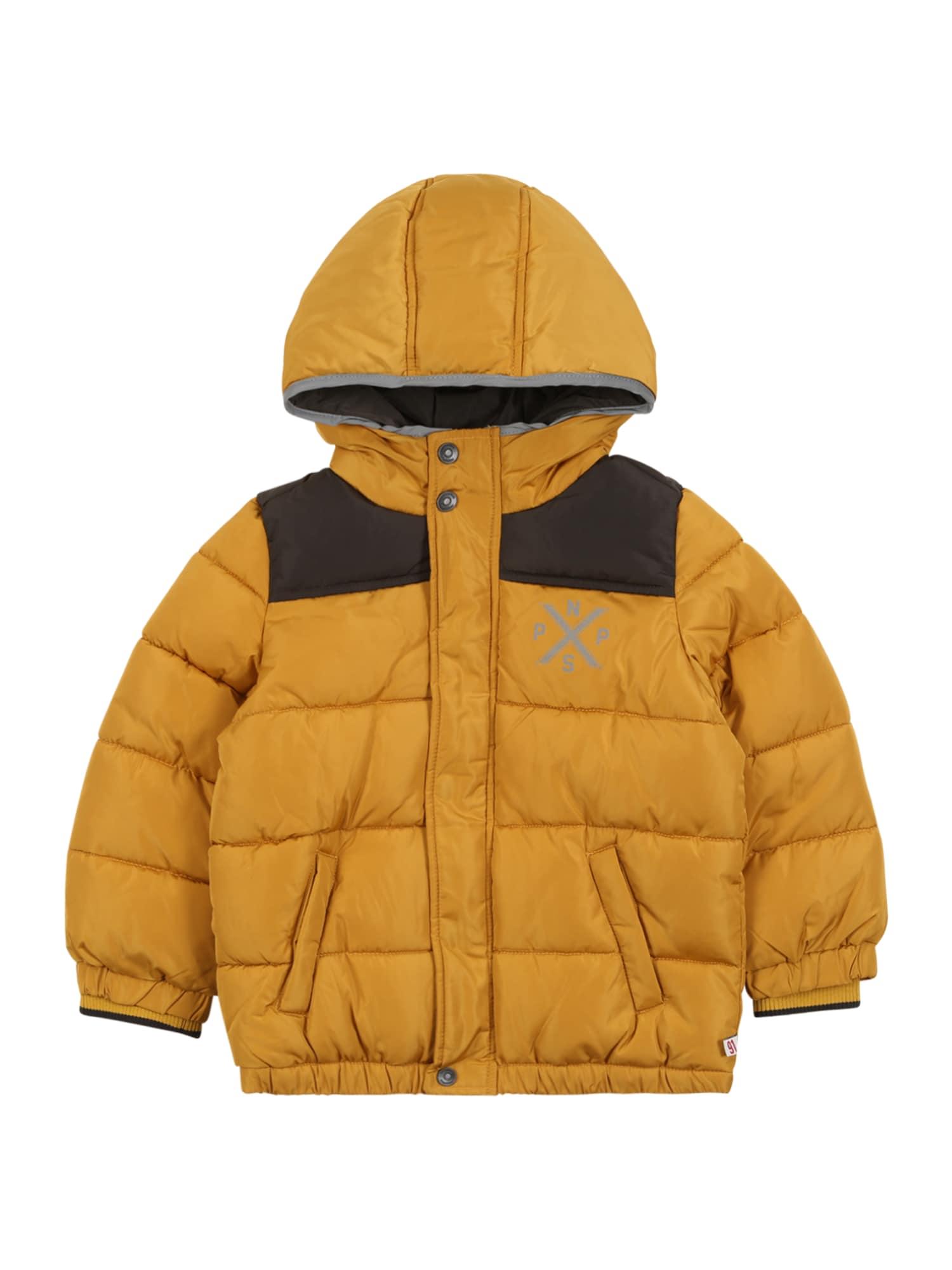 Noppies Žieminė striukė 'Lowry' geltona / juoda