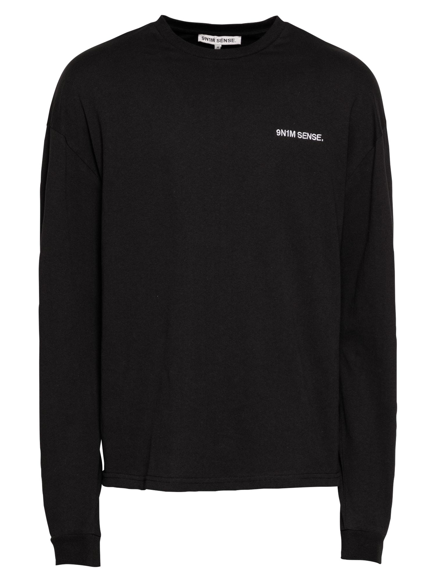 9N1M SENSE Marškinėliai juoda