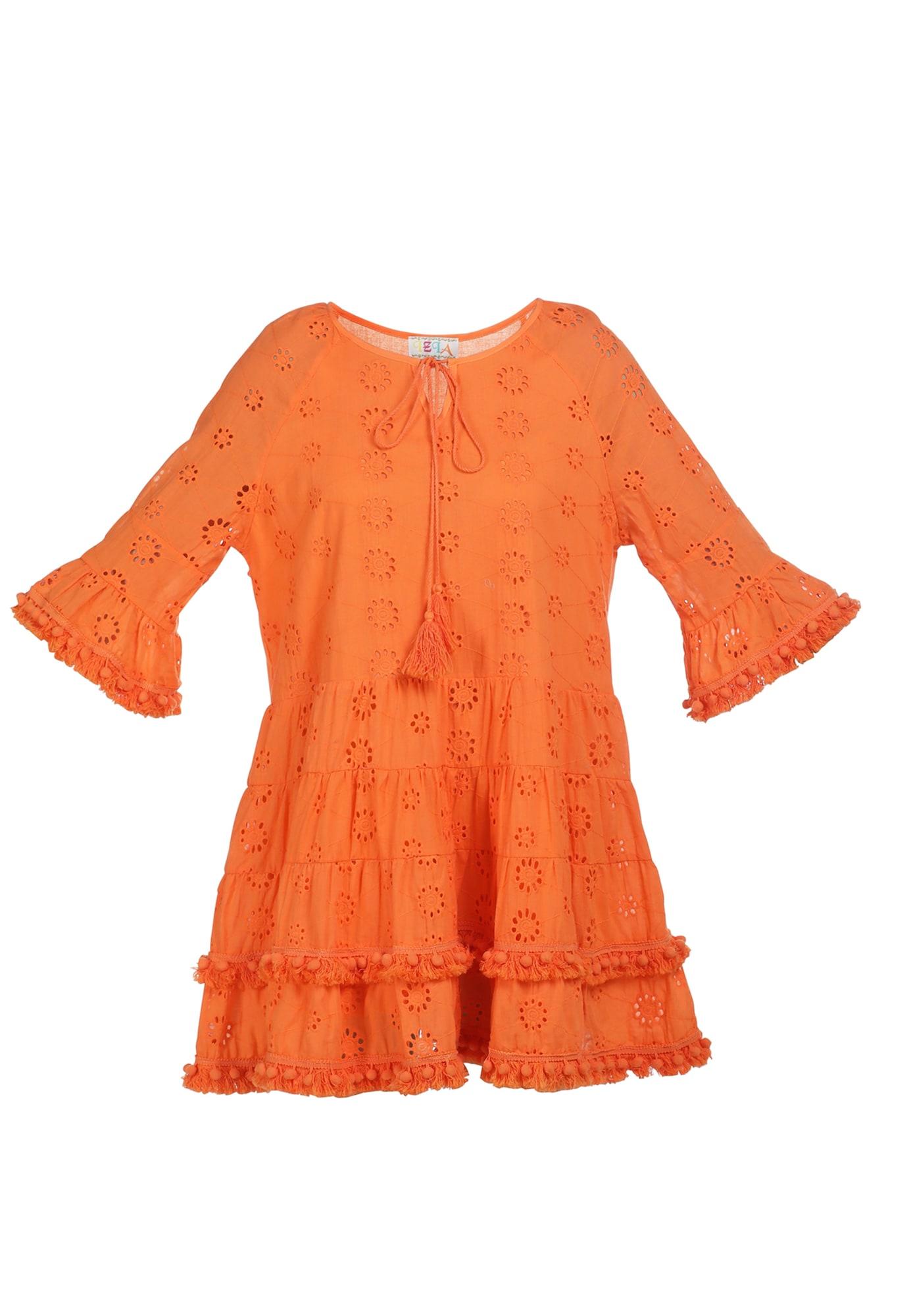 IZIA Vasarinė suknelė oranžinė
