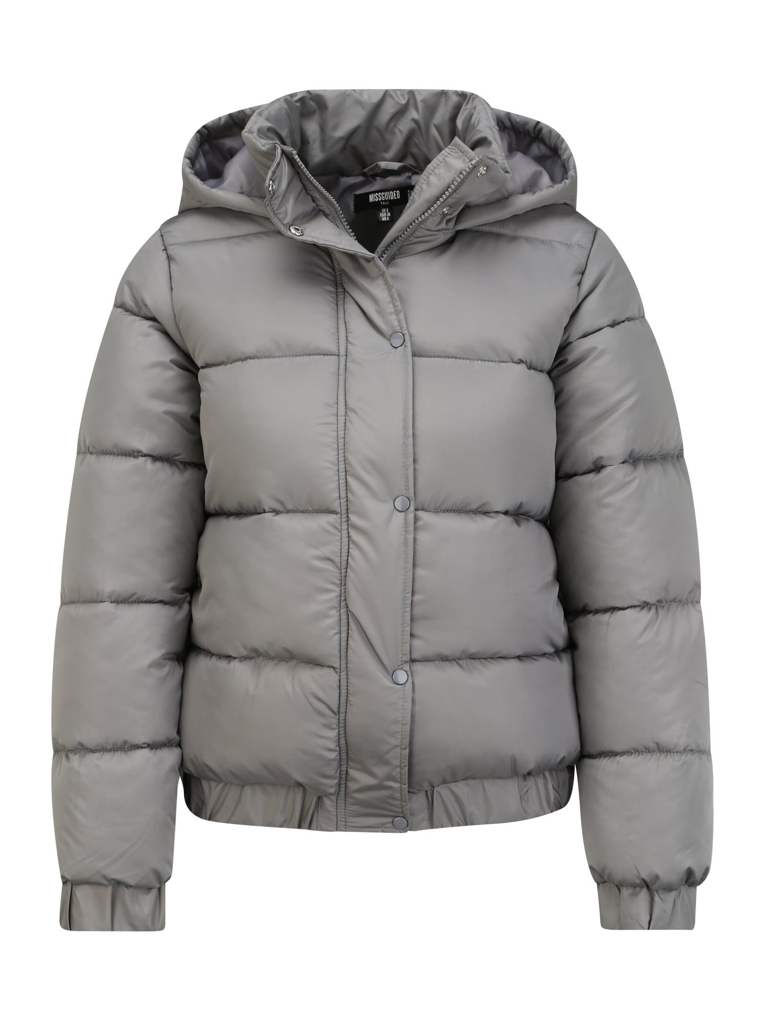 Missguided (Tall) Žieminė striukė pilka