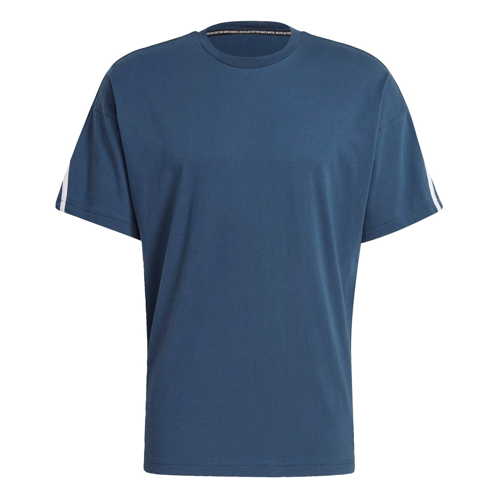ADIDAS PERFORMANCE Funkční tričko  bílá / námořnická modř / černá