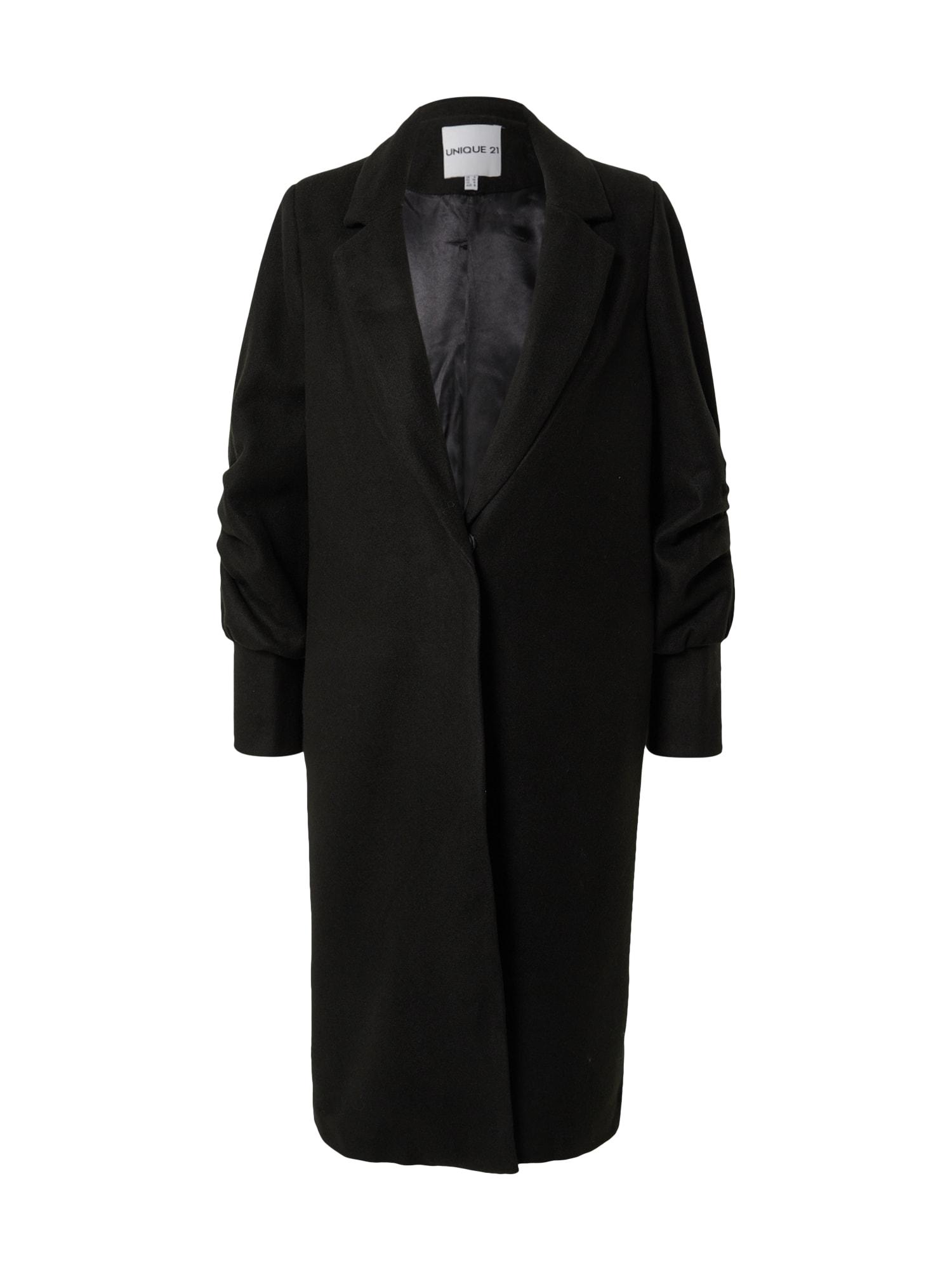 Unique21 Demisezoninis paltas juoda