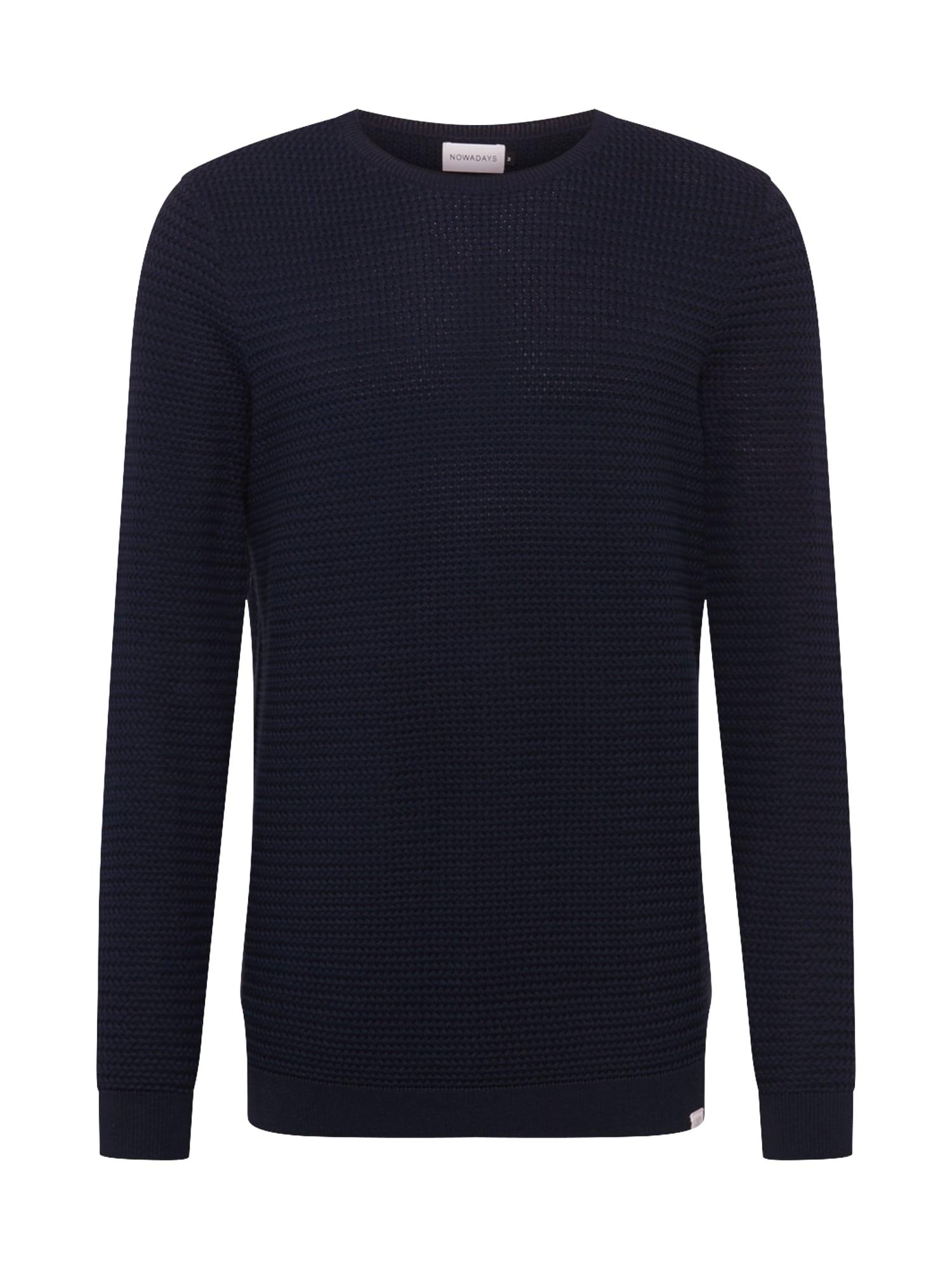 NOWADAYS Megztinis tamsiai mėlyna