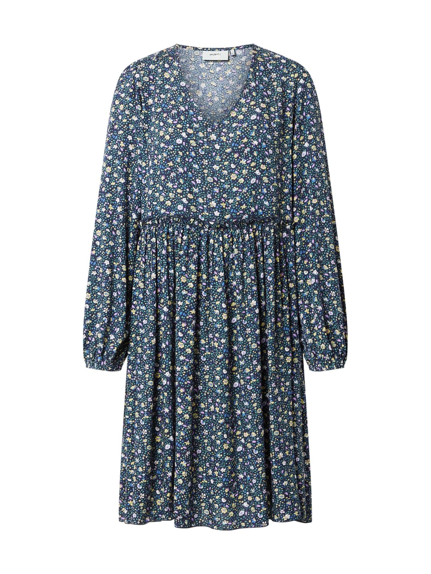 Moves Šaty  tmavě modrá / mix barev