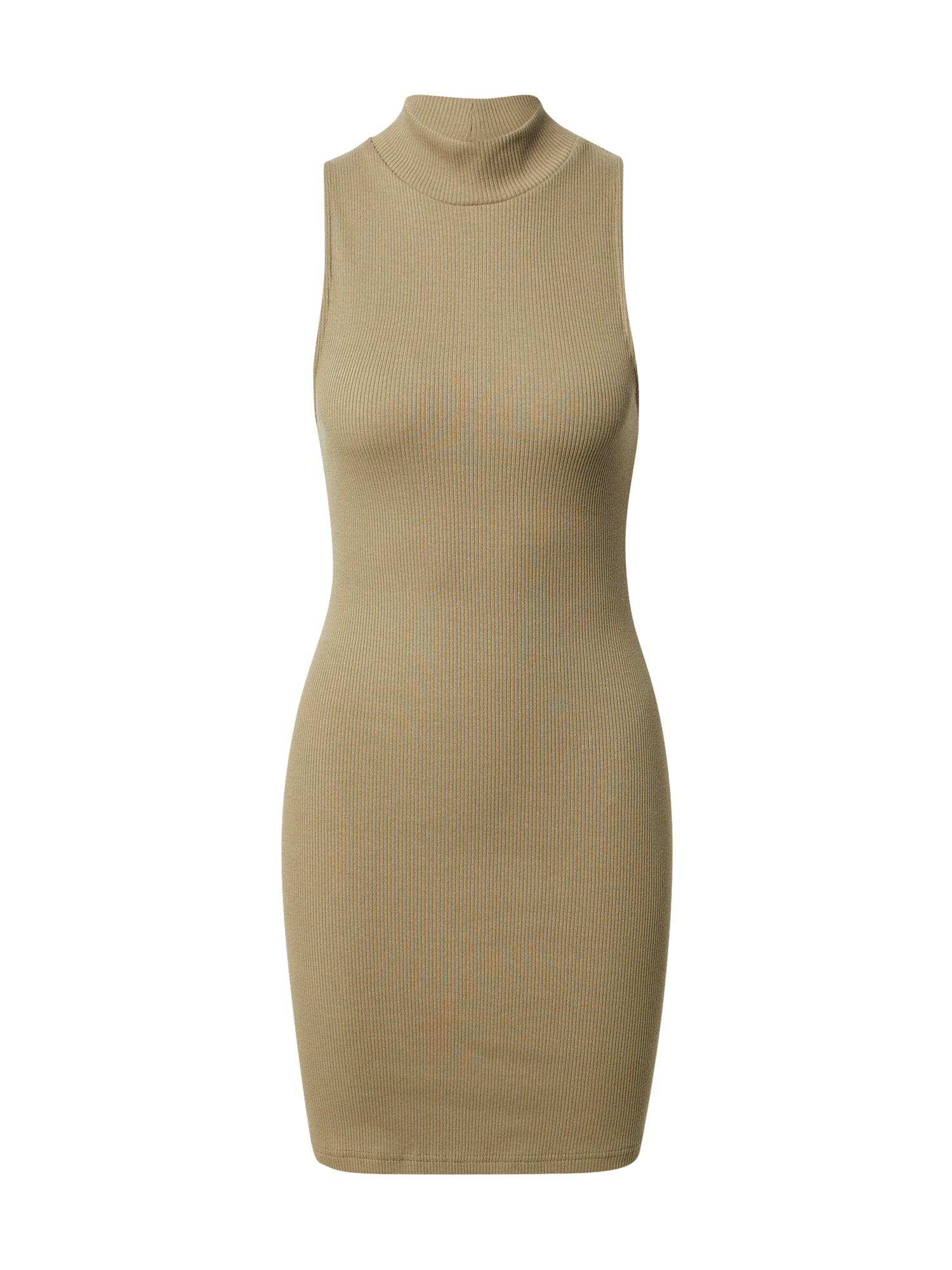 A LOT LESS Megzta suknelė
