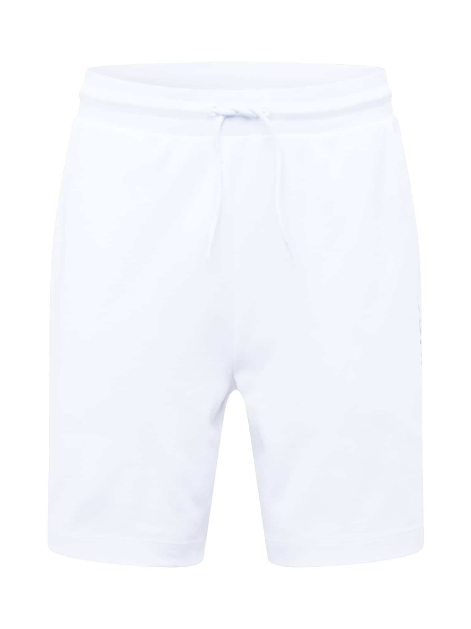HUGO Kelnės 'DOSHI211' balta / juoda