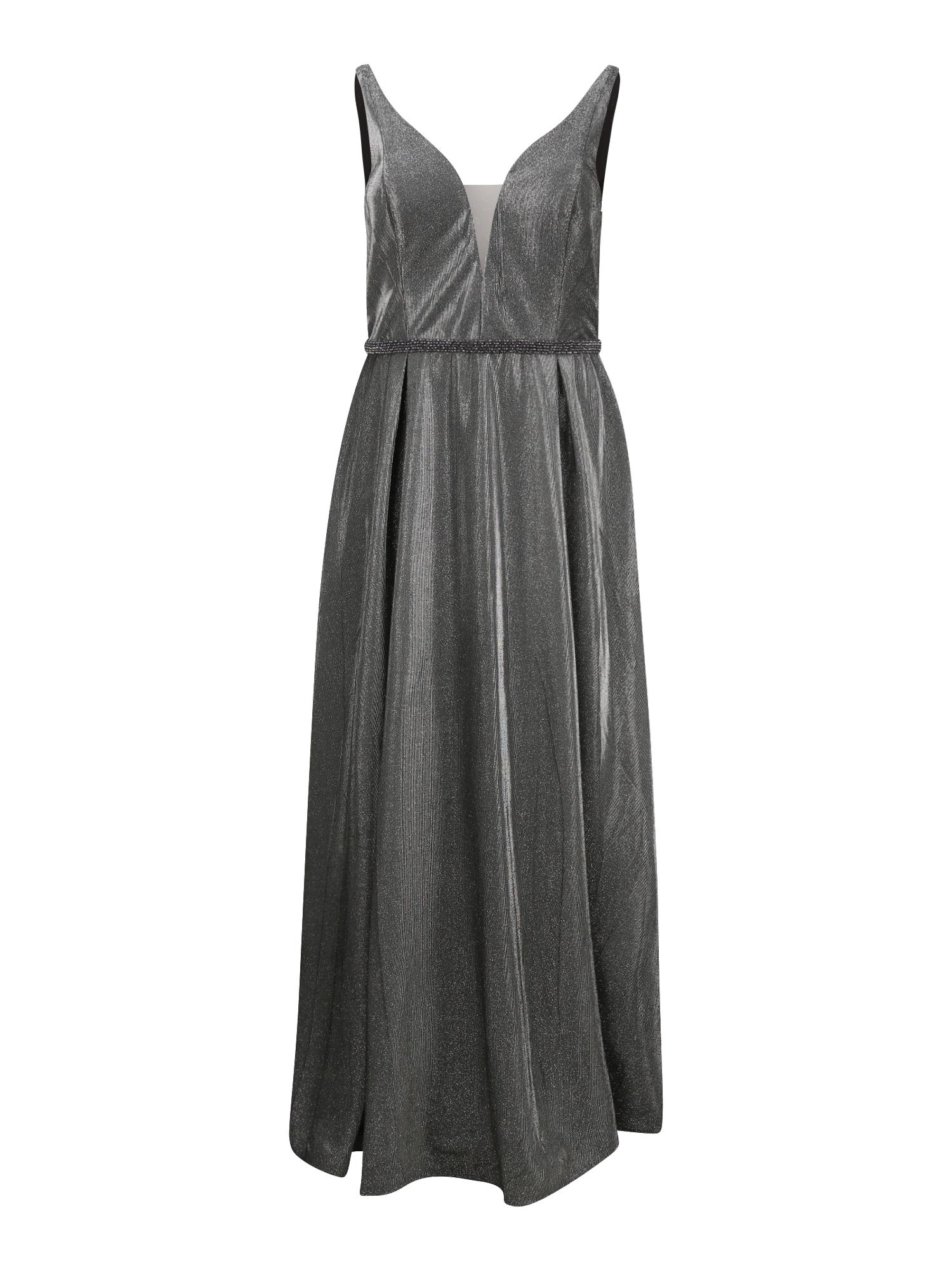 My Mascara Curves Vakarinė suknelė tamsiai pilka