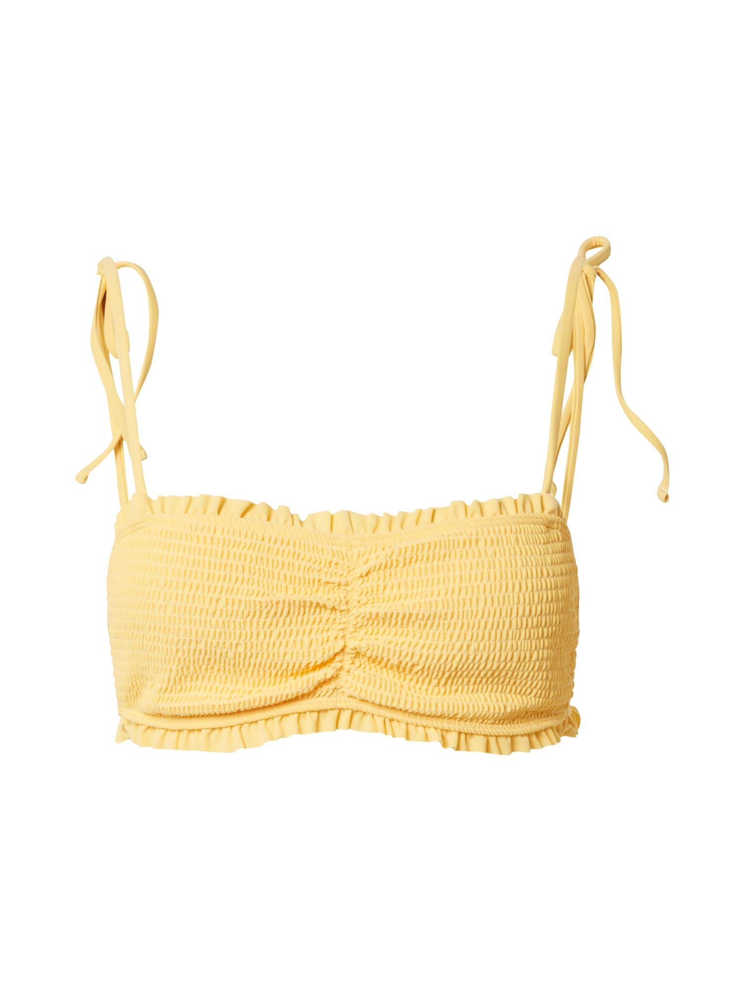 HOLLISTER Bikinio viršutinė dalis geltona