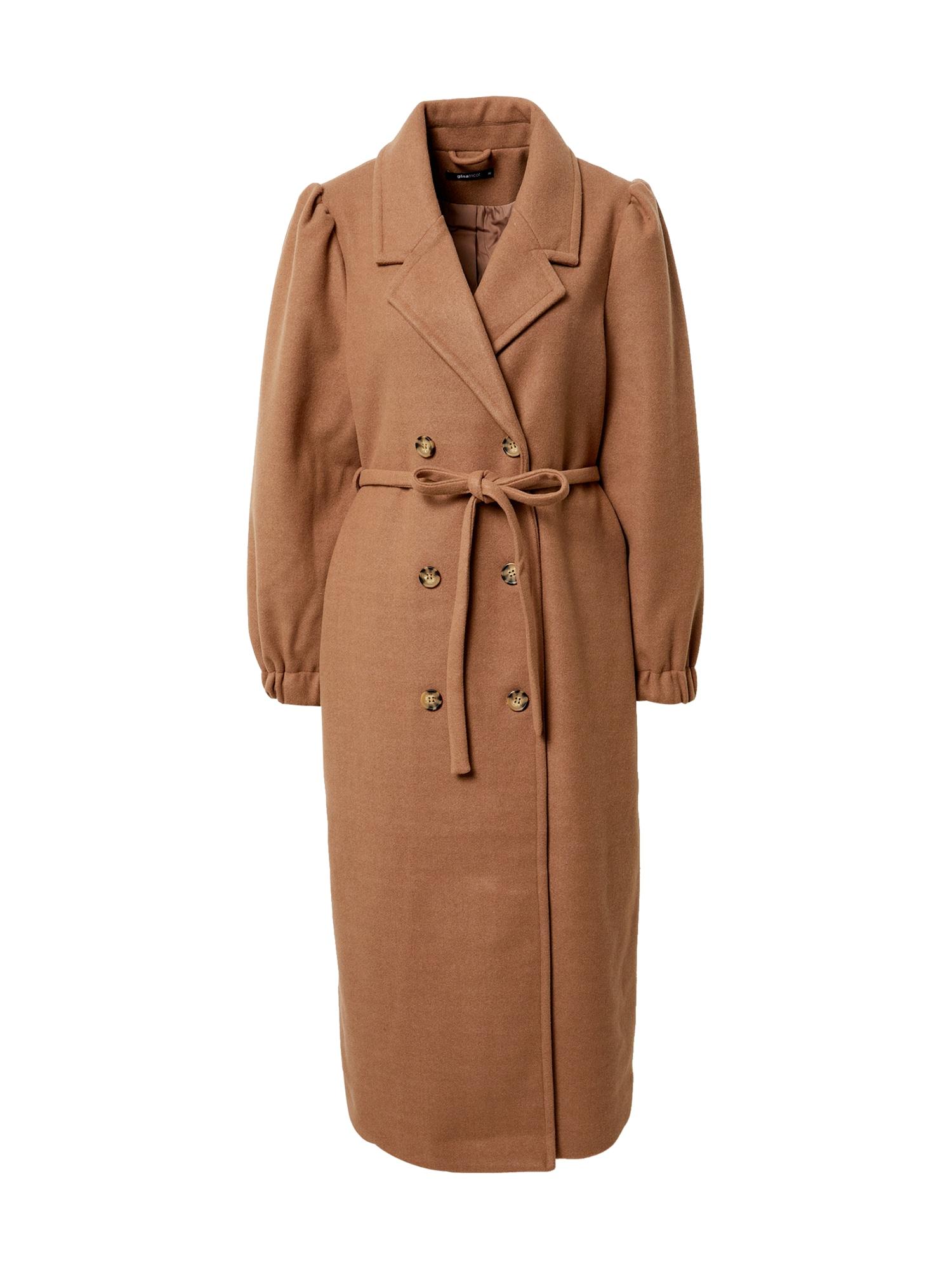 Gina Tricot Demisezoninis paltas ruda