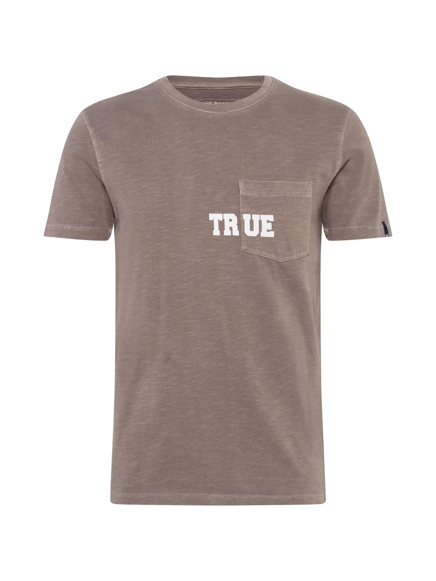 True Religion Marškinėliai pilka