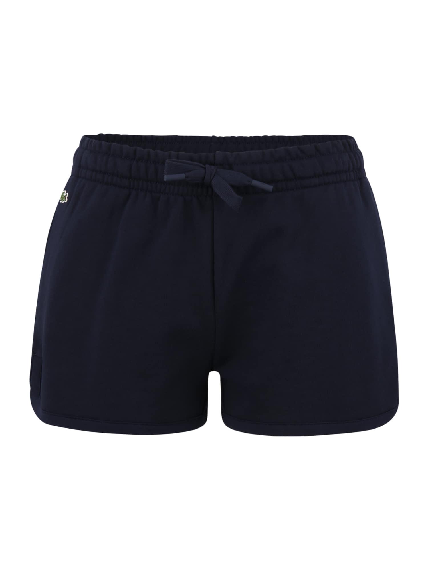 Lacoste Sport Sportinės kelnės tamsiai mėlyna / šviesiai žalia / balta / raudona