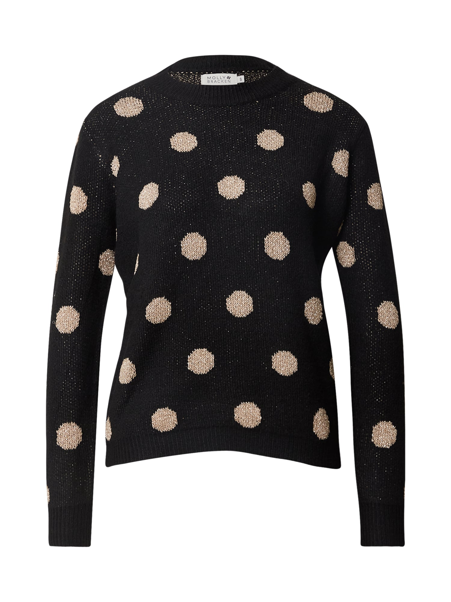 Molly BRACKEN Megztinis juoda / smėlio