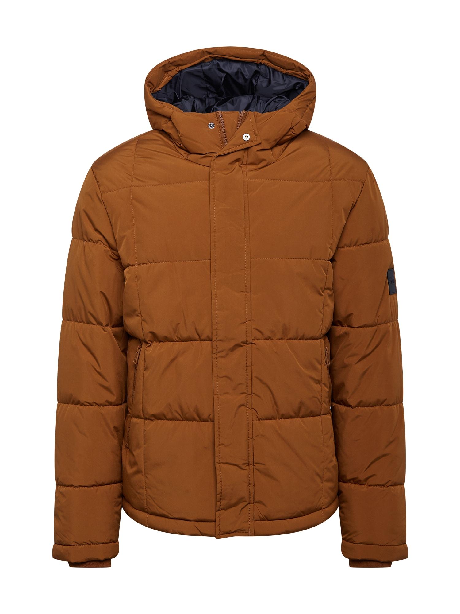 ESPRIT Žieminė striukė ruda (konjako)