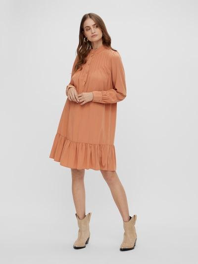 Y.A.S Sunna hochgeschlossenes gesmoktes Langarm-Kleid