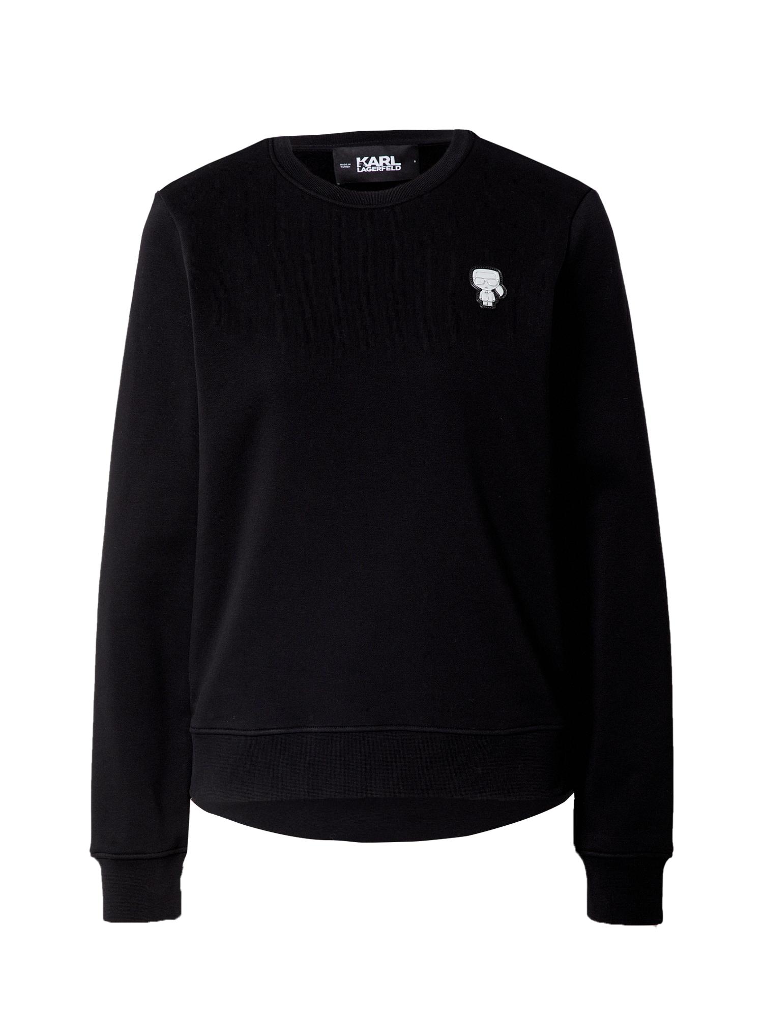 Karl Lagerfeld Megztinis be užsegimo juoda