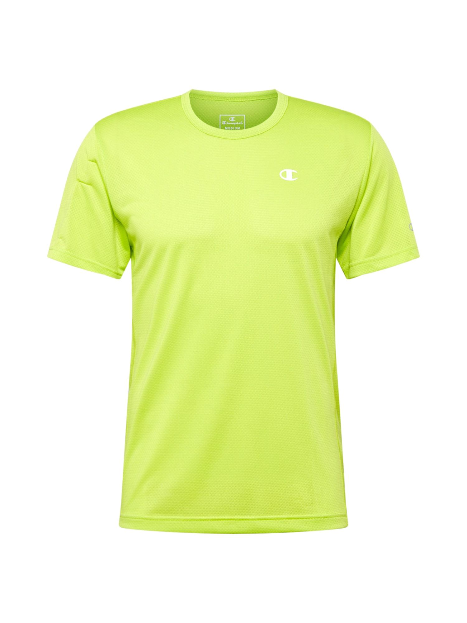 Champion Authentic Athletic Apparel Funkční tričko  limetková