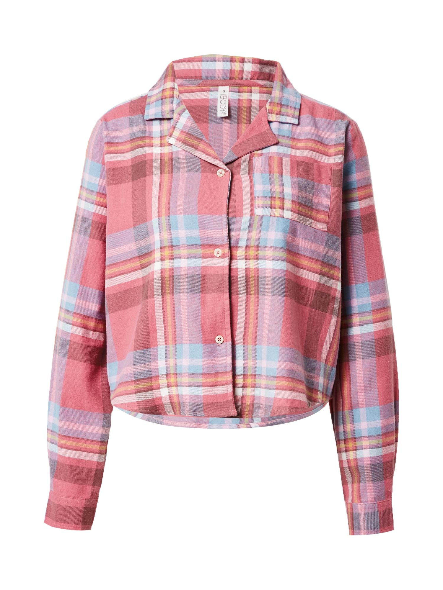 Cotton On Pižaminiai marškinėliai rožių spalva / purpurinė / šviesiai mėlyna