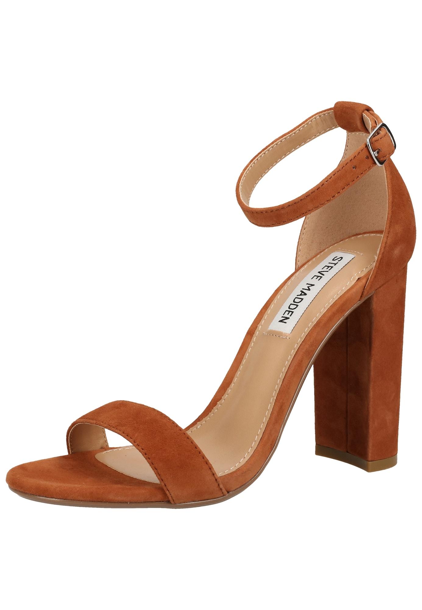 STEVE MADDEN Remienkové sandále 'Carrson'  karamelová