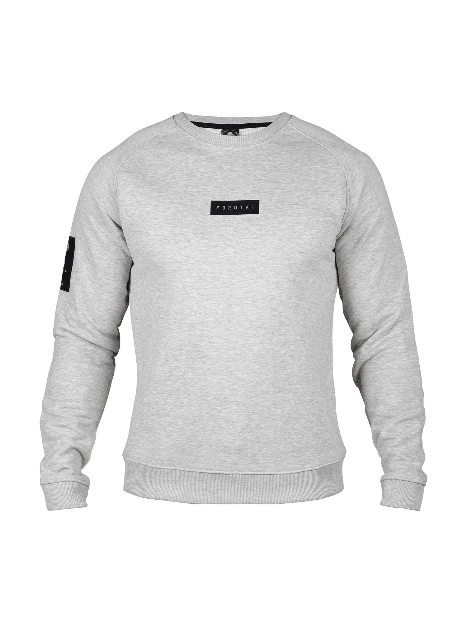 MOROTAI Sportinio tipo megztinis šviesiai pilka