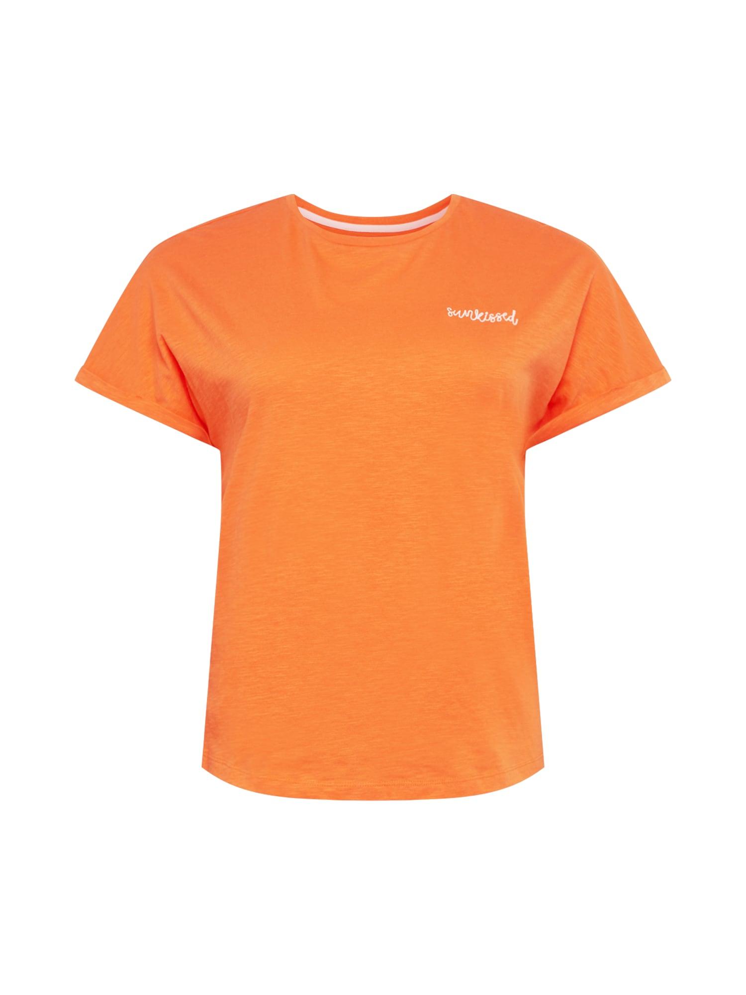 MY TRUE ME Marškinėliai oranžinė / šviesiai oranžinė