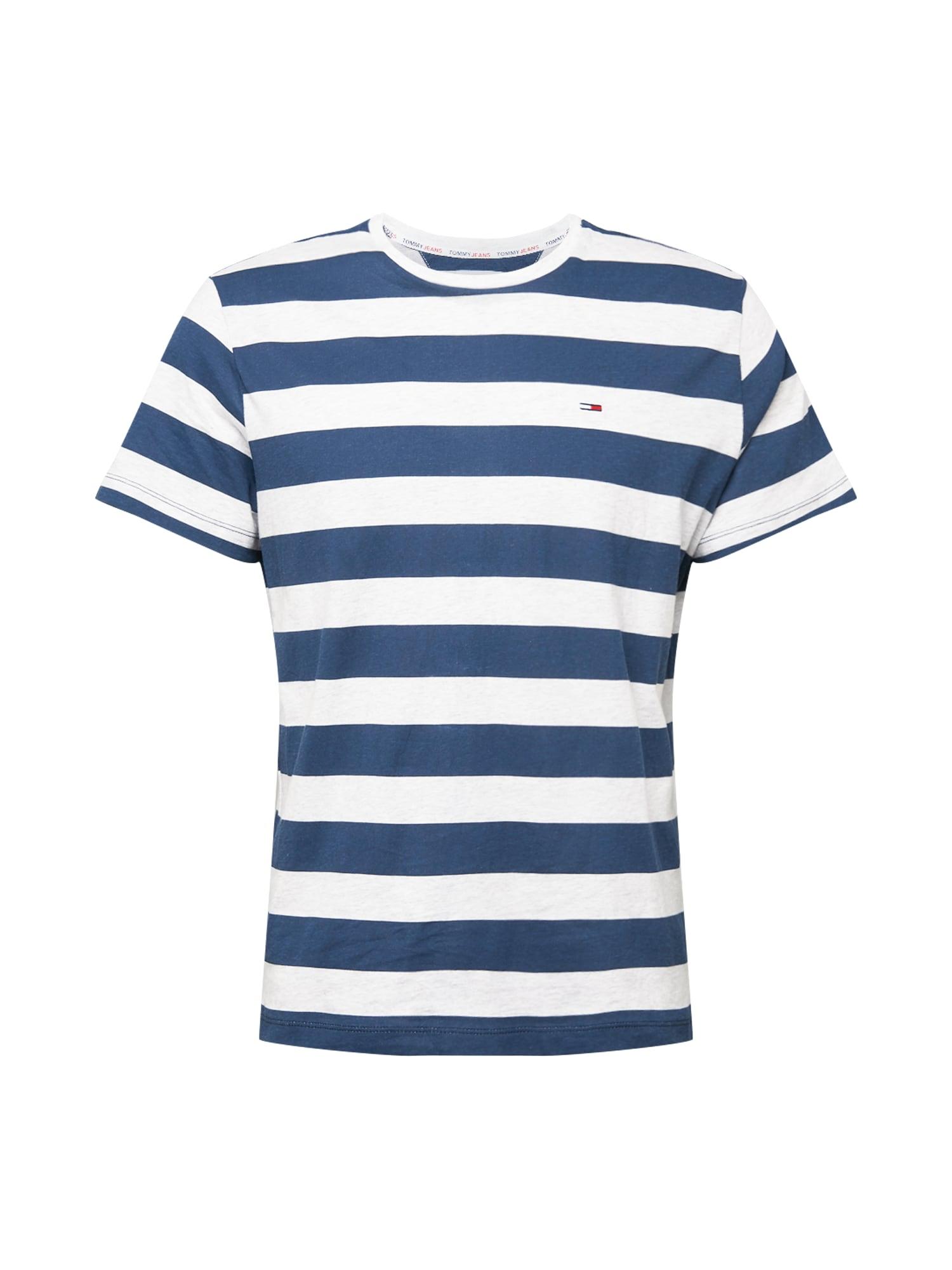 Tommy Jeans Tričko 'HEATHER'  bílá / námořnická modř