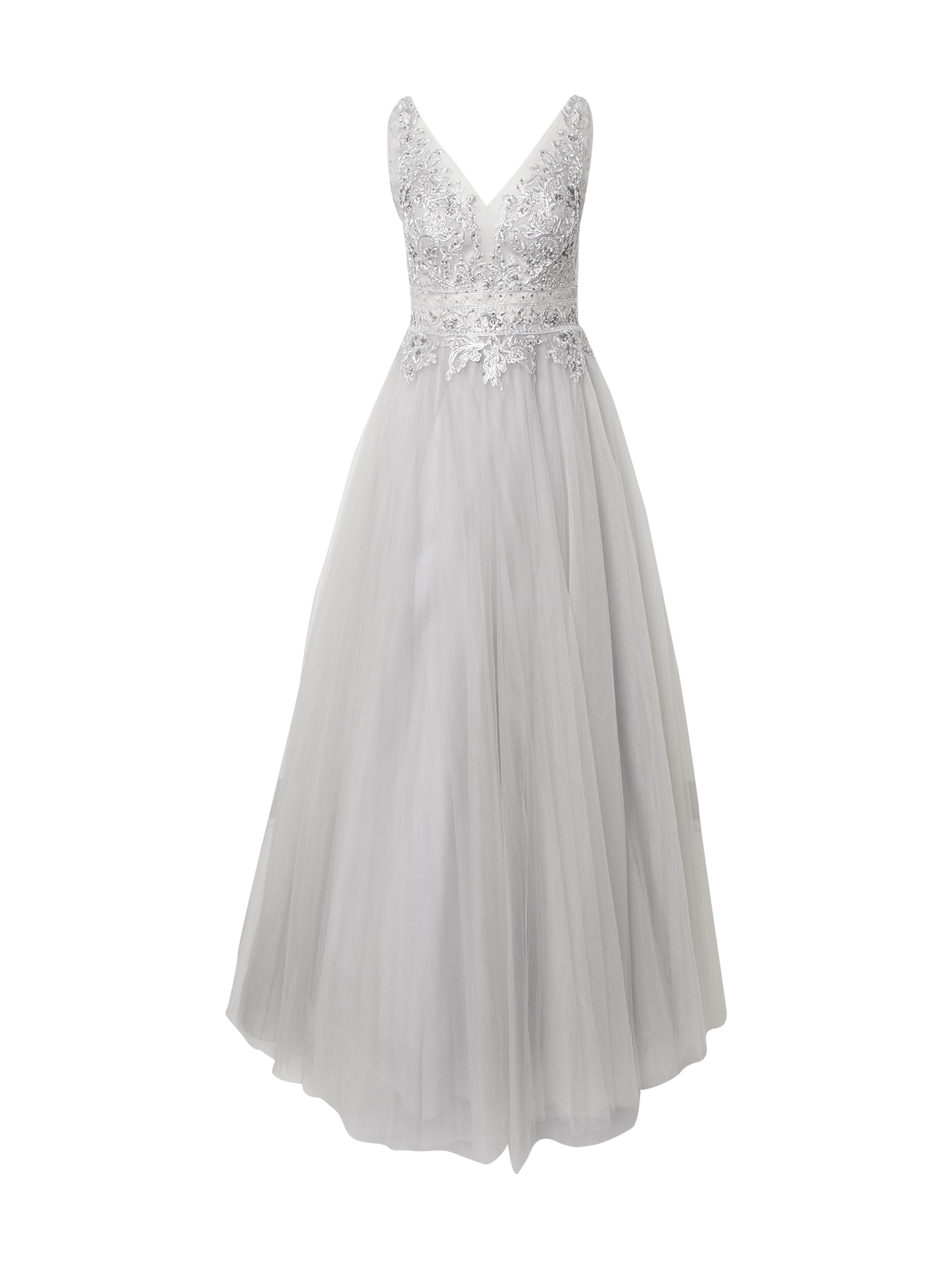 LUXUAR Vakarinė suknelė sidabrinė / sidabro pilka