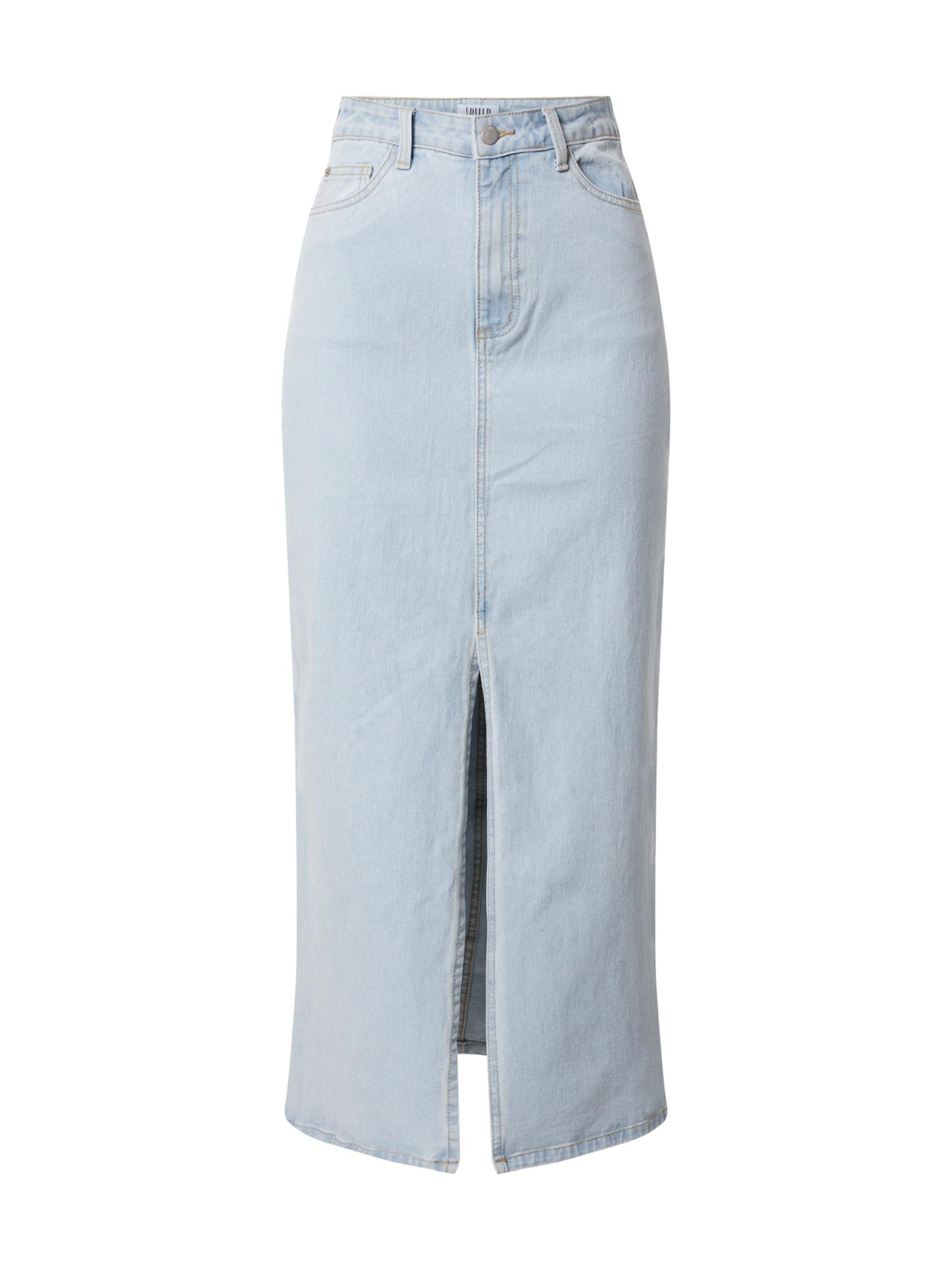 EDITED Sijonas 'Naomi' tamsiai (džinso) mėlyna