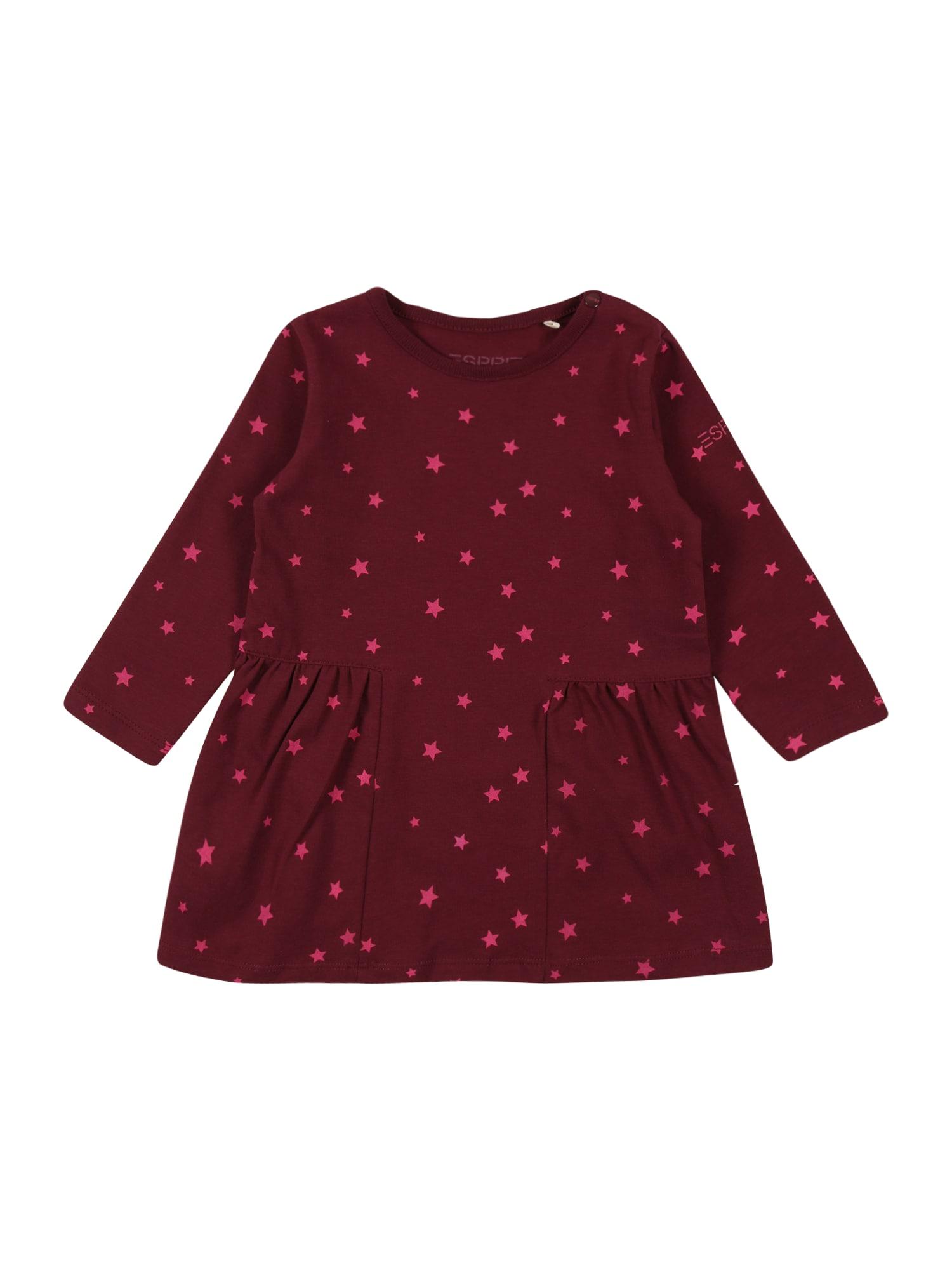 ESPRIT Suknelė slyvų spalva / rožinė