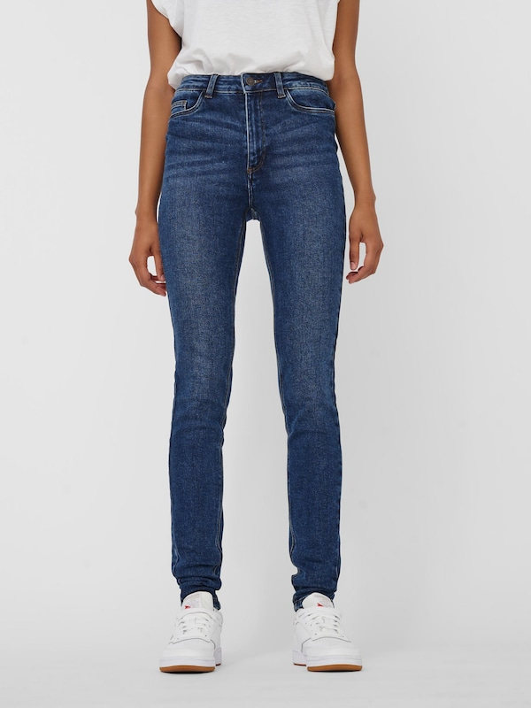 Jeans 'NMCALLIE CHIC HW JEANS VI072DB BG NOOS'