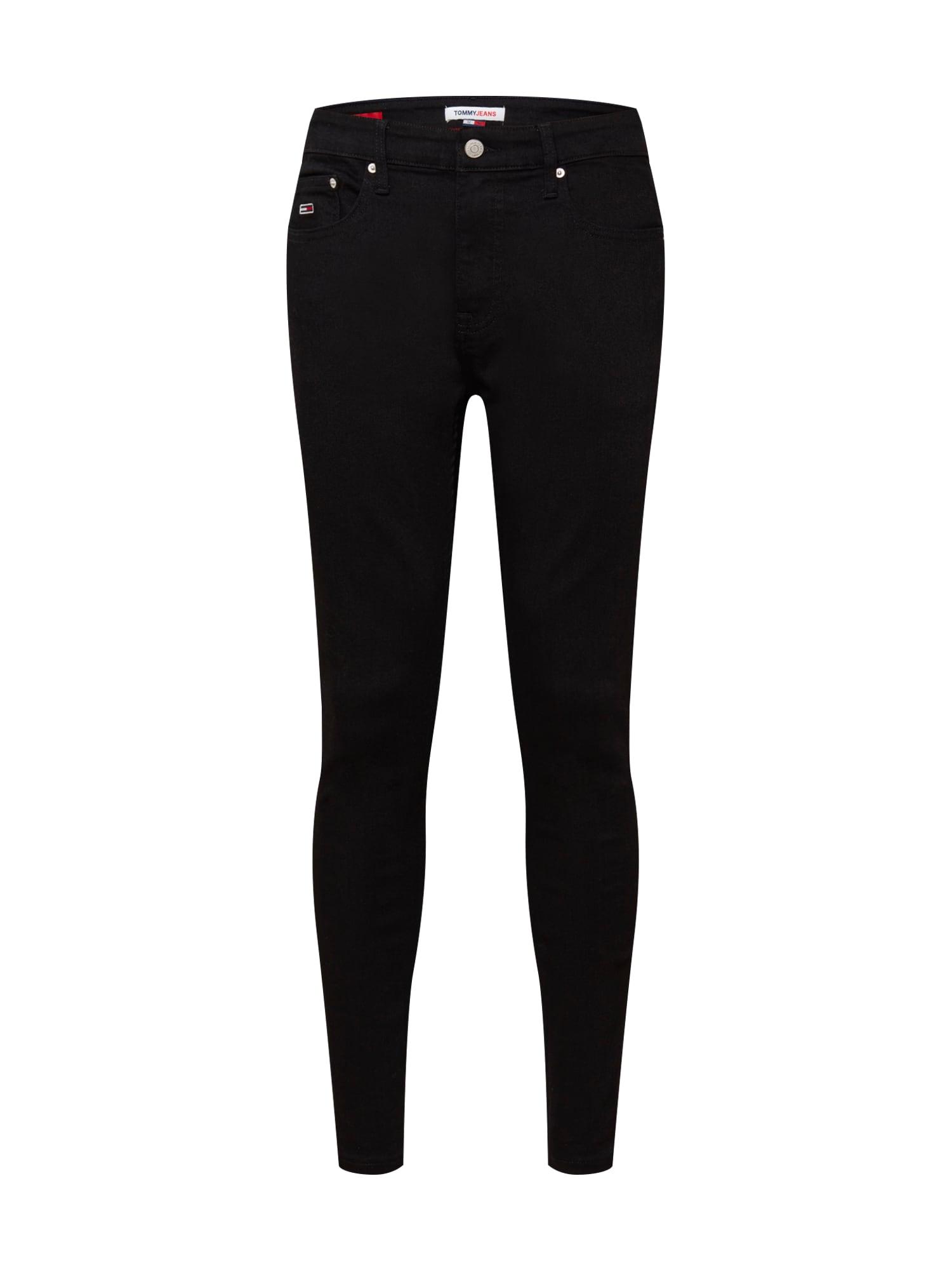 Tommy Jeans Džíny  černá džínovina