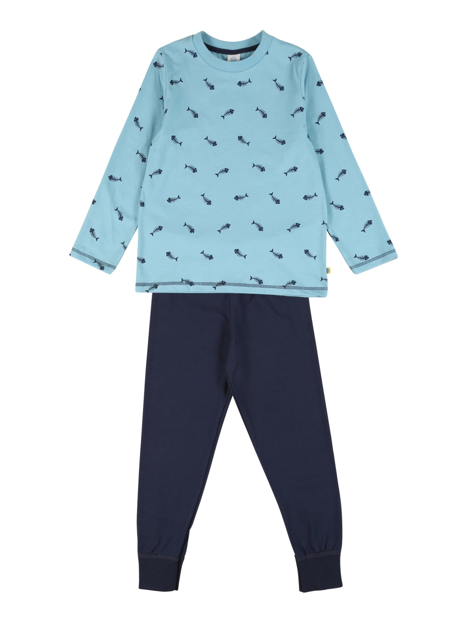 SANETTA Miego kostiumas šviesiai mėlyna / nakties mėlyna